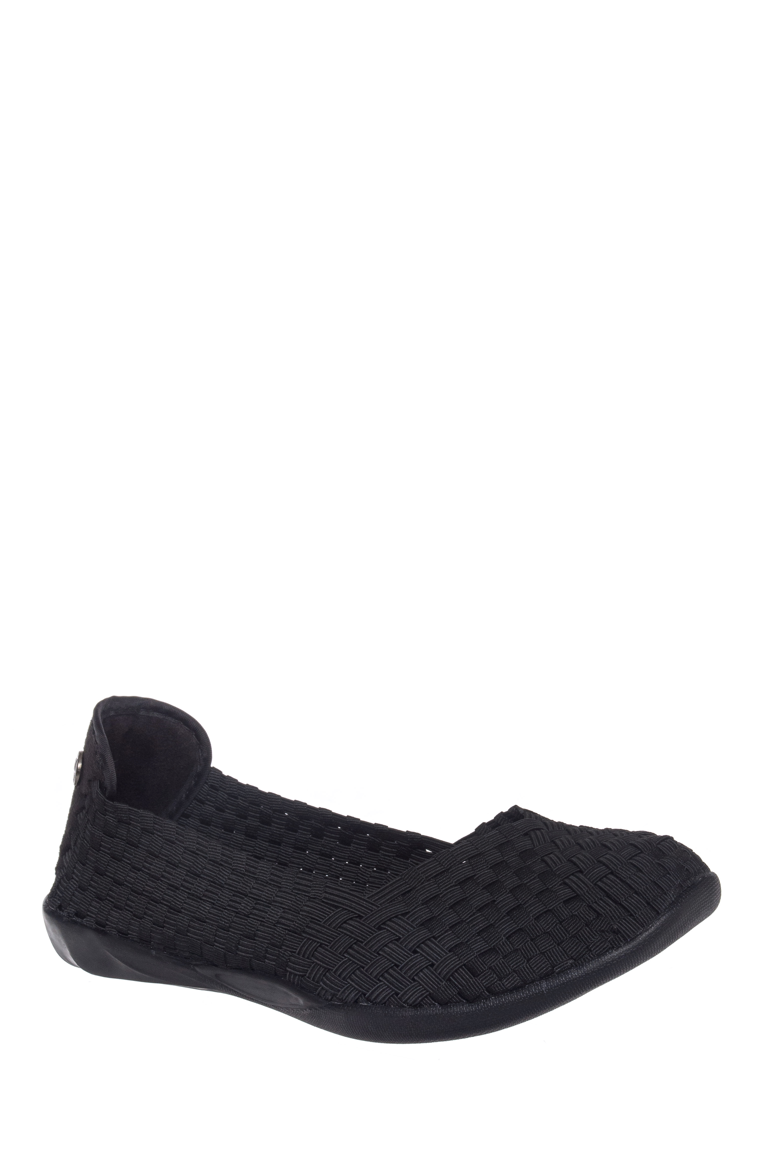 Bernie Mev Catwalk Comfort Flats - Black