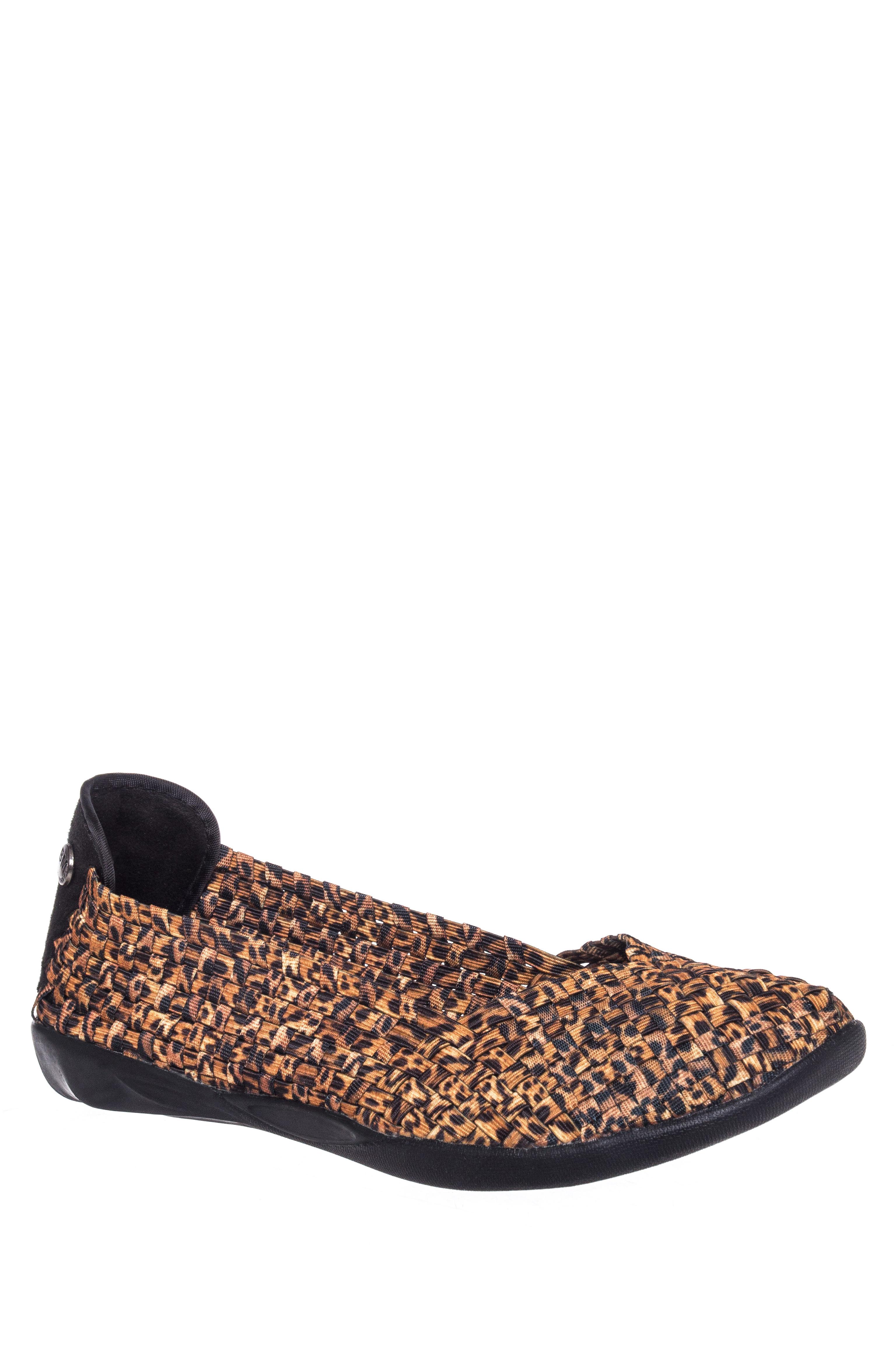 Bernie Mev Catwalk Comfort Flats - Leopard