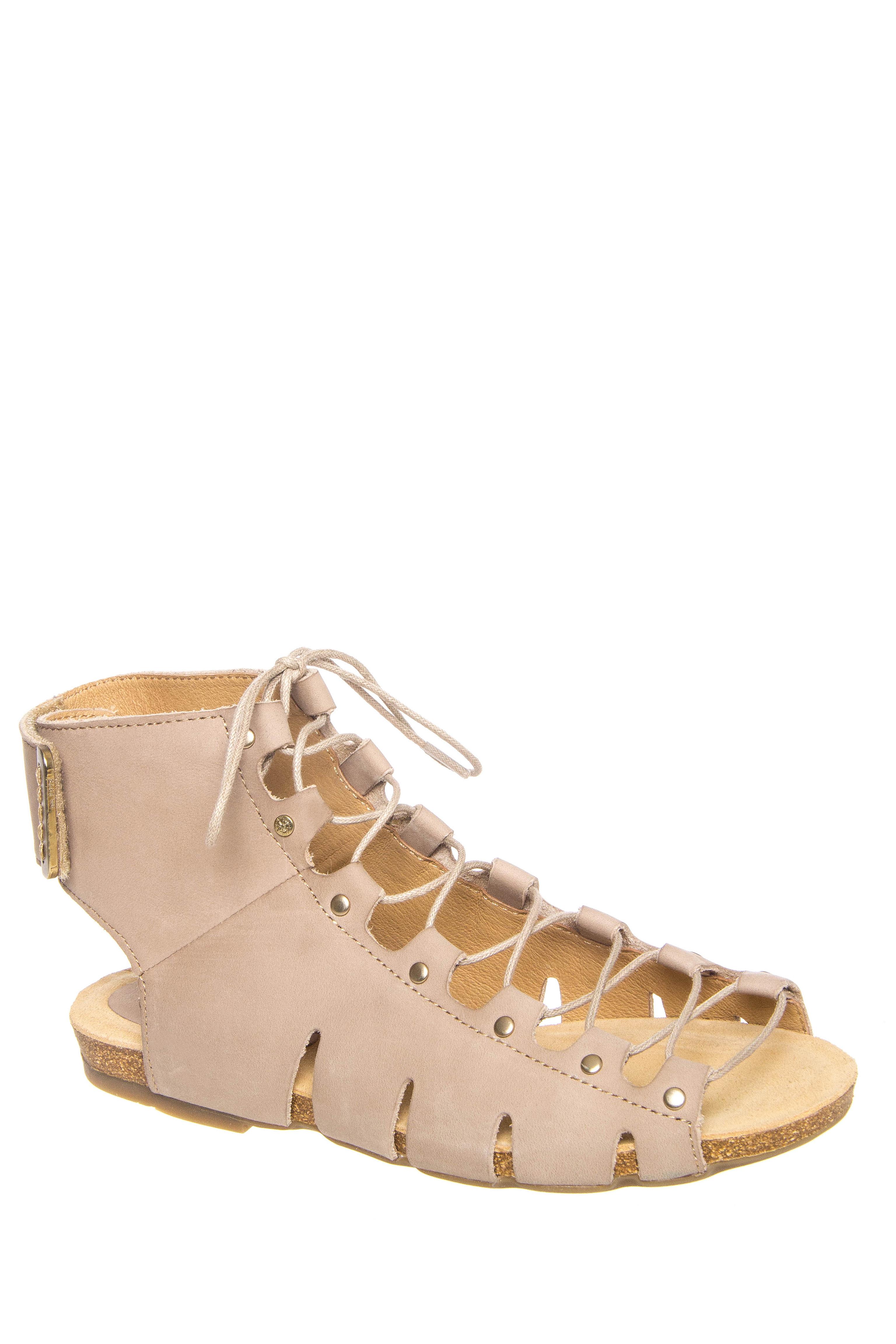 Bussola Maynila Gladiator Sandals - Doeskin