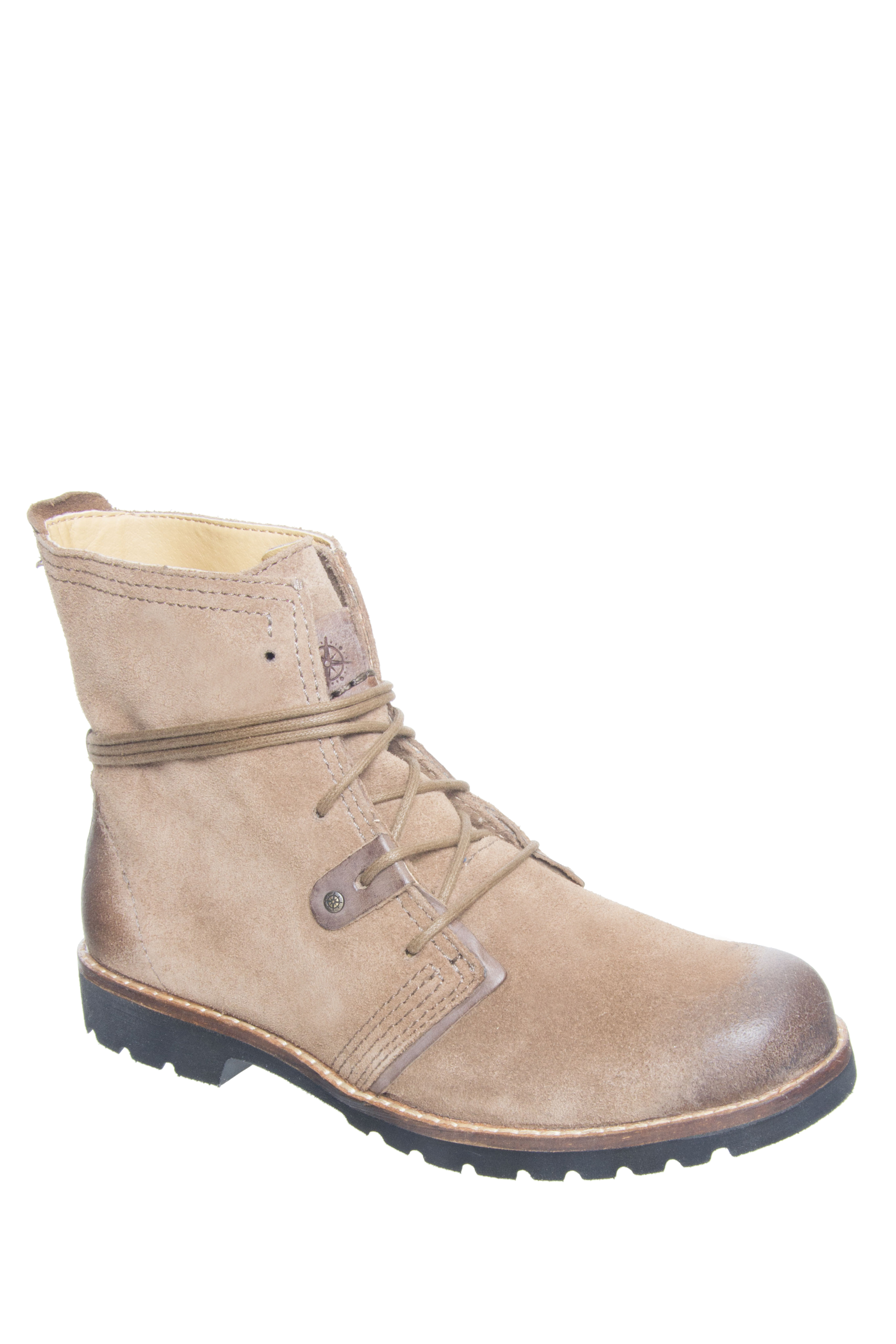 Bussola Keely Lace Up Boots - Fossil
