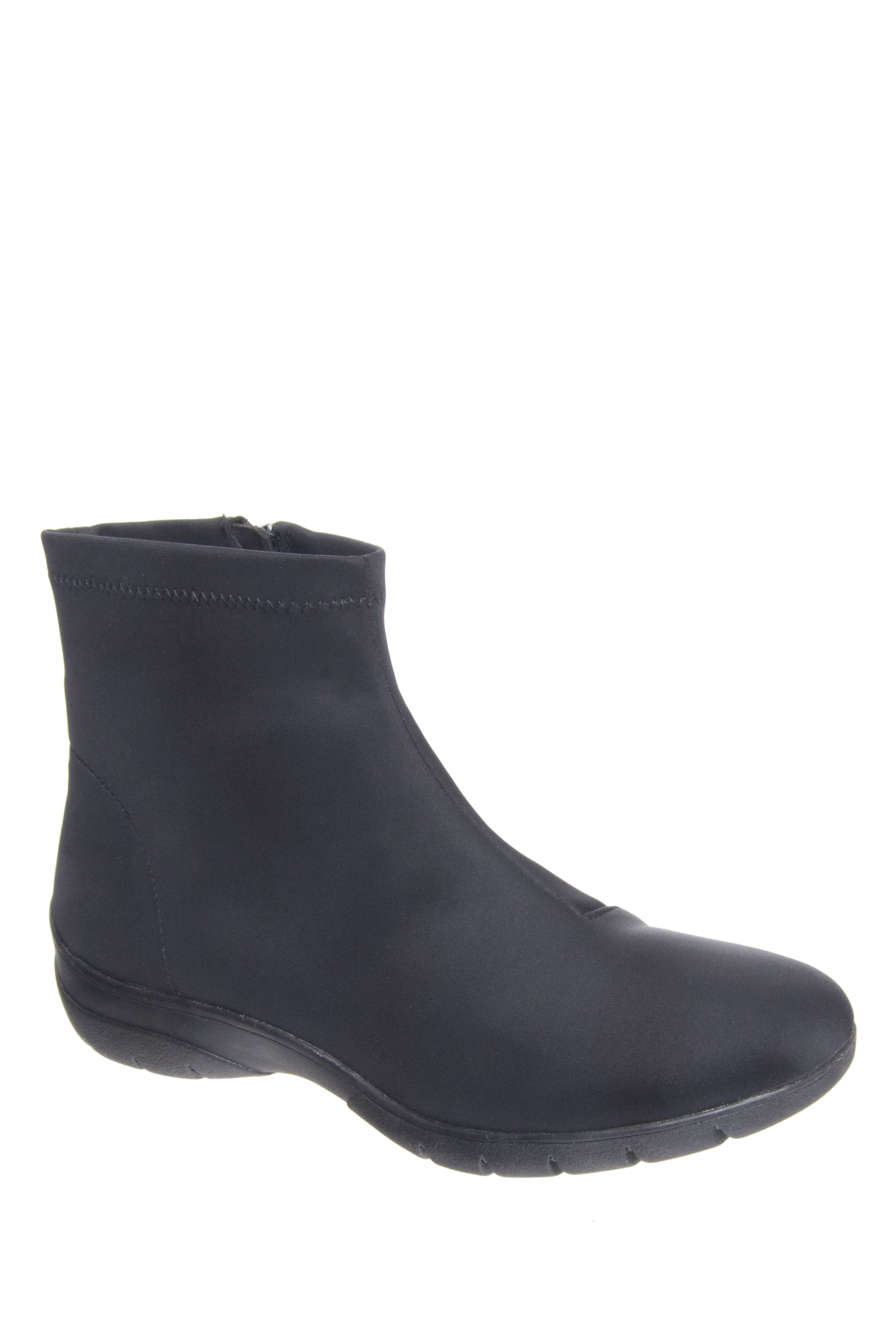Bussola Klara Low Wedge Boots - Black