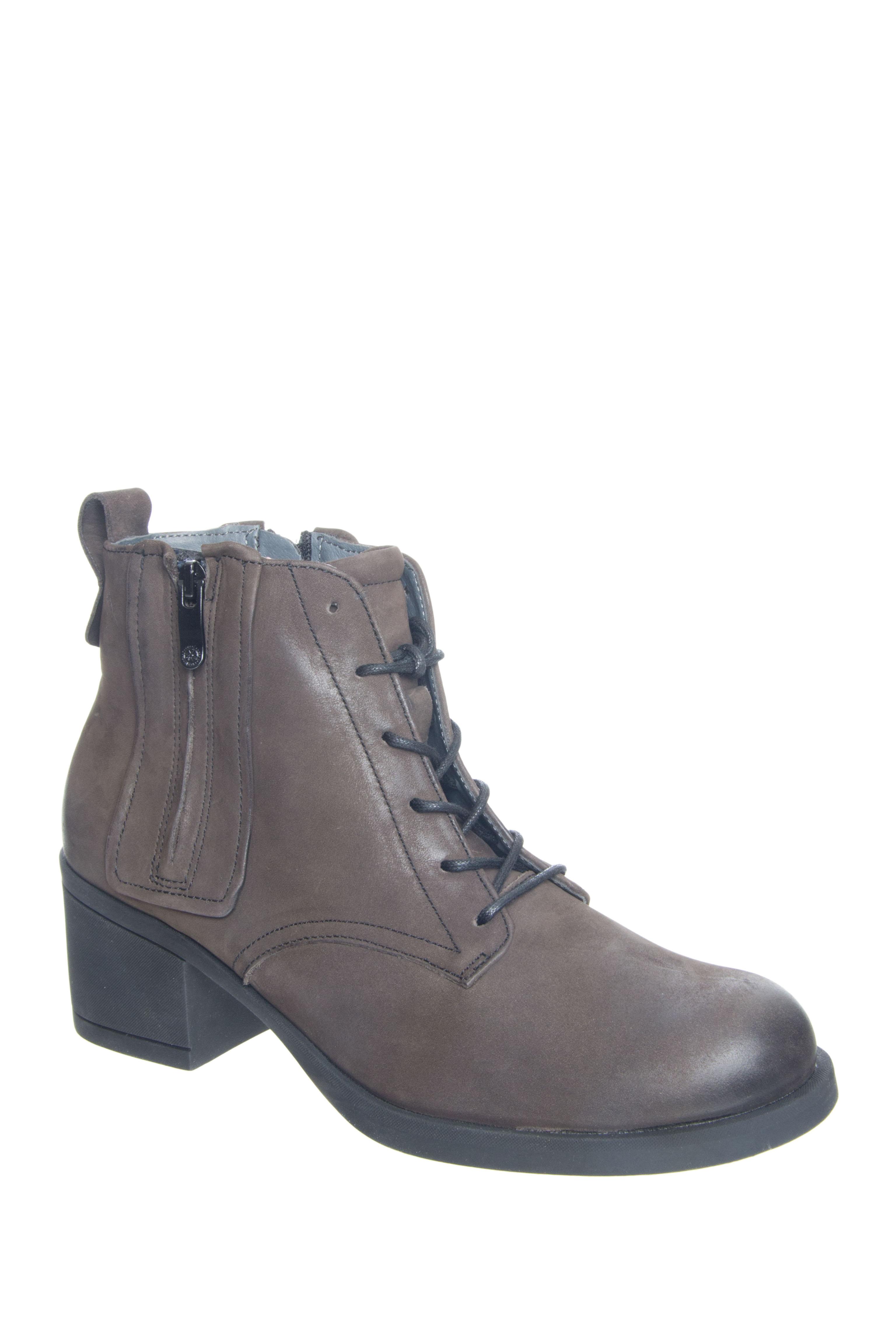 Bussola Teddy Mid Heel Booties - Iron