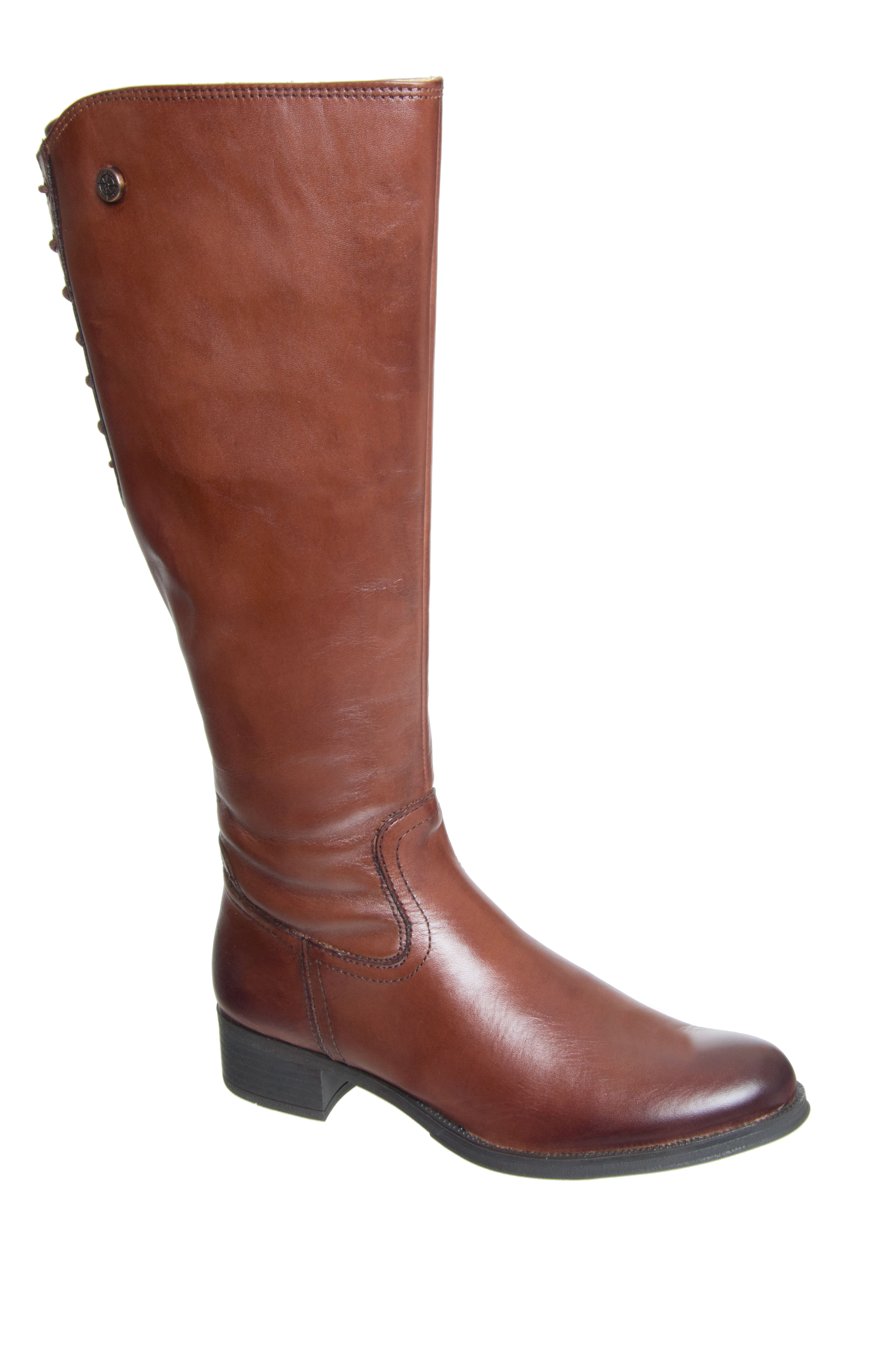 Bussola Salma Mid Calf Boots - Russet