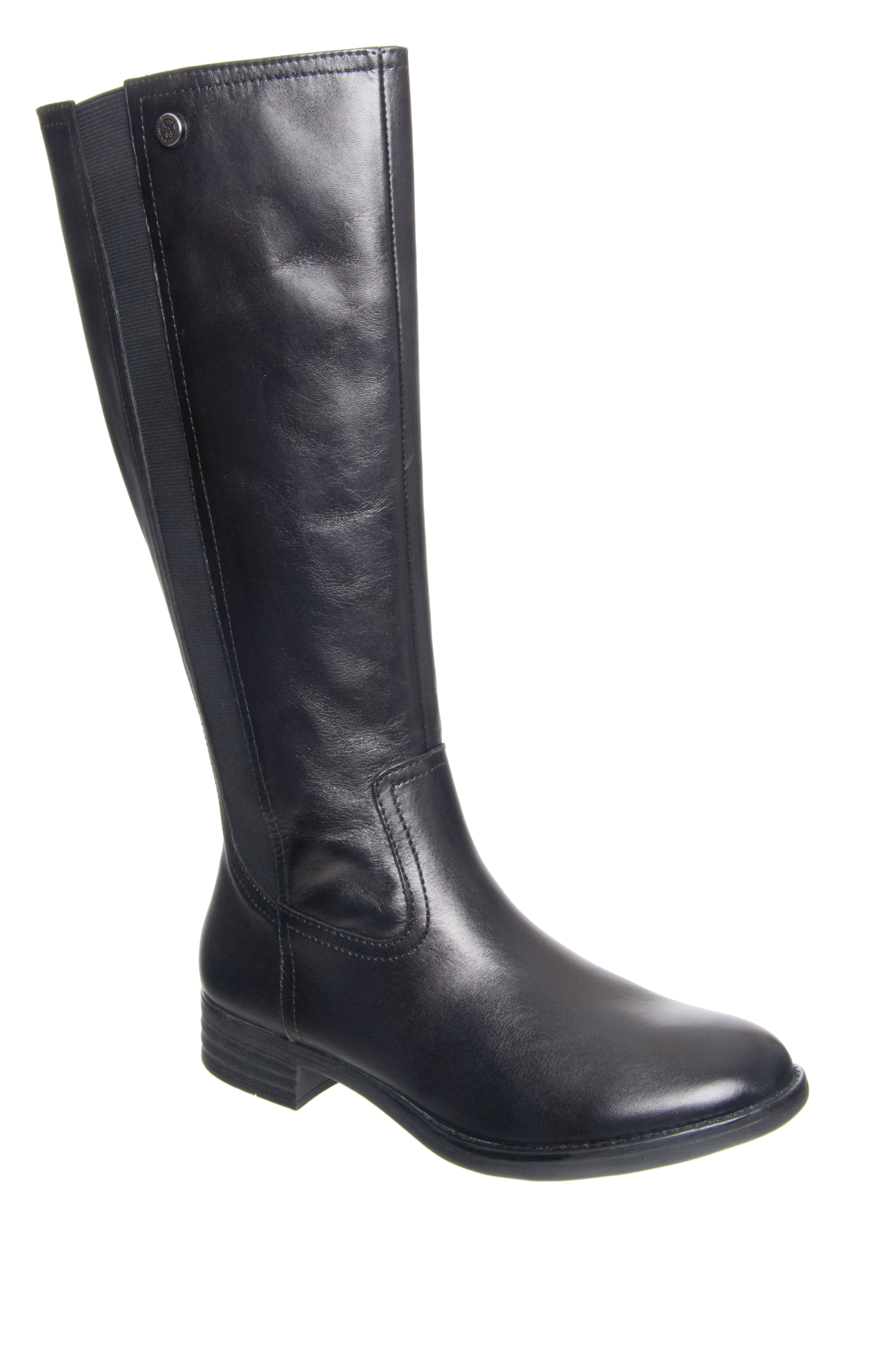 Bussola Tyra Mid Calf Boots - Black