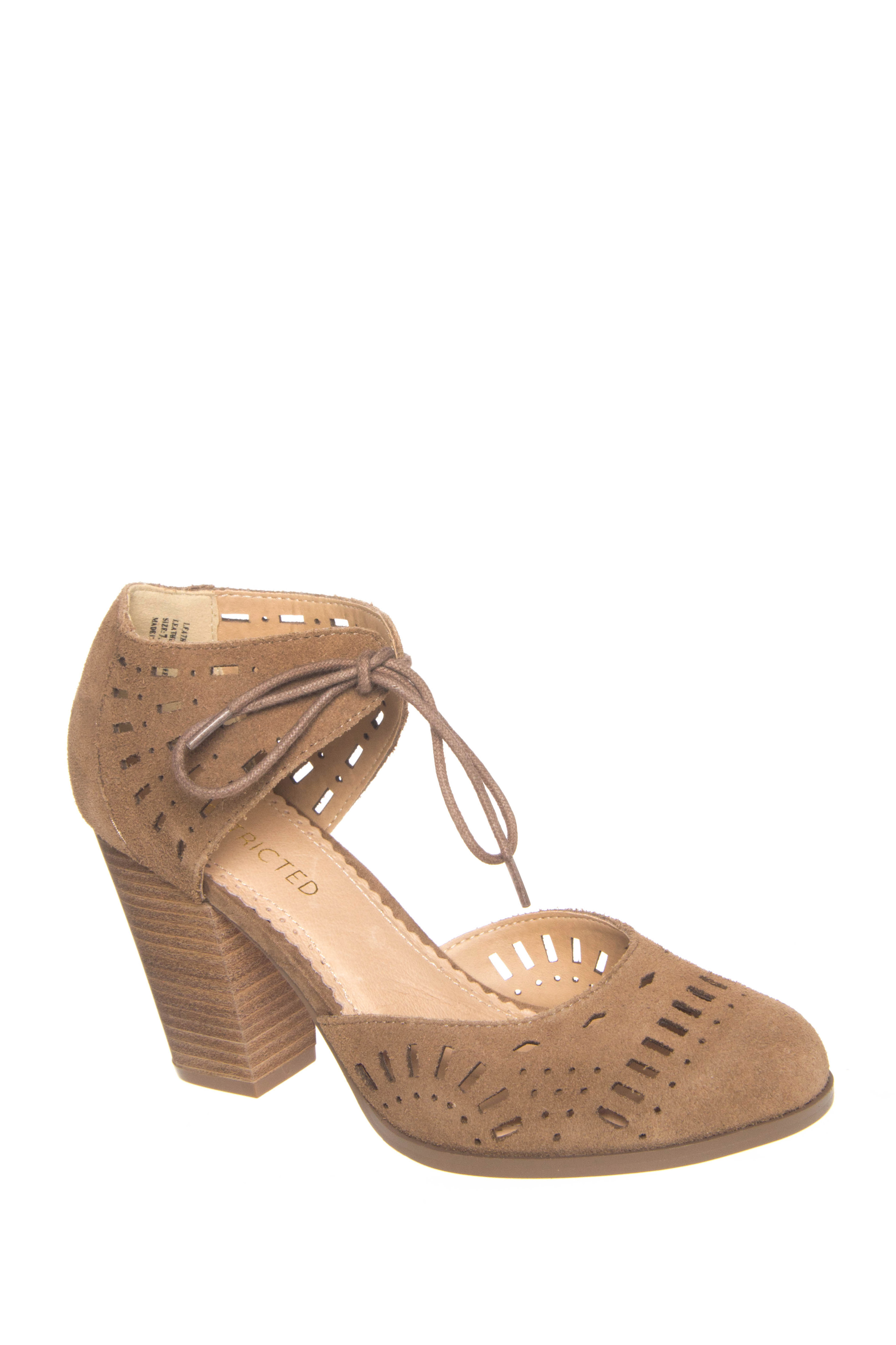 Restricted Cut out Wind Heels - Taupe