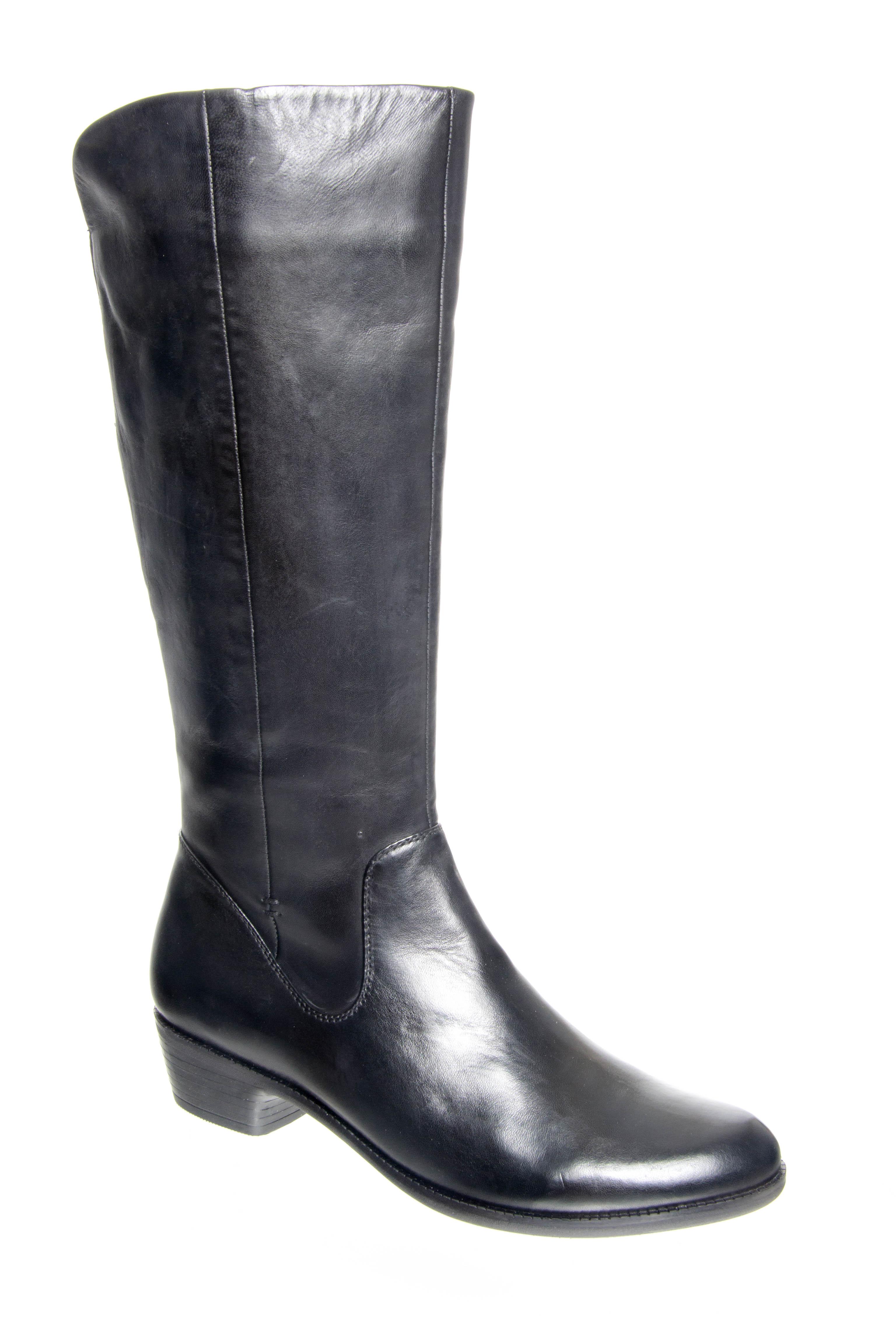 Spring Step Bolah Mid Calf Boots - Black