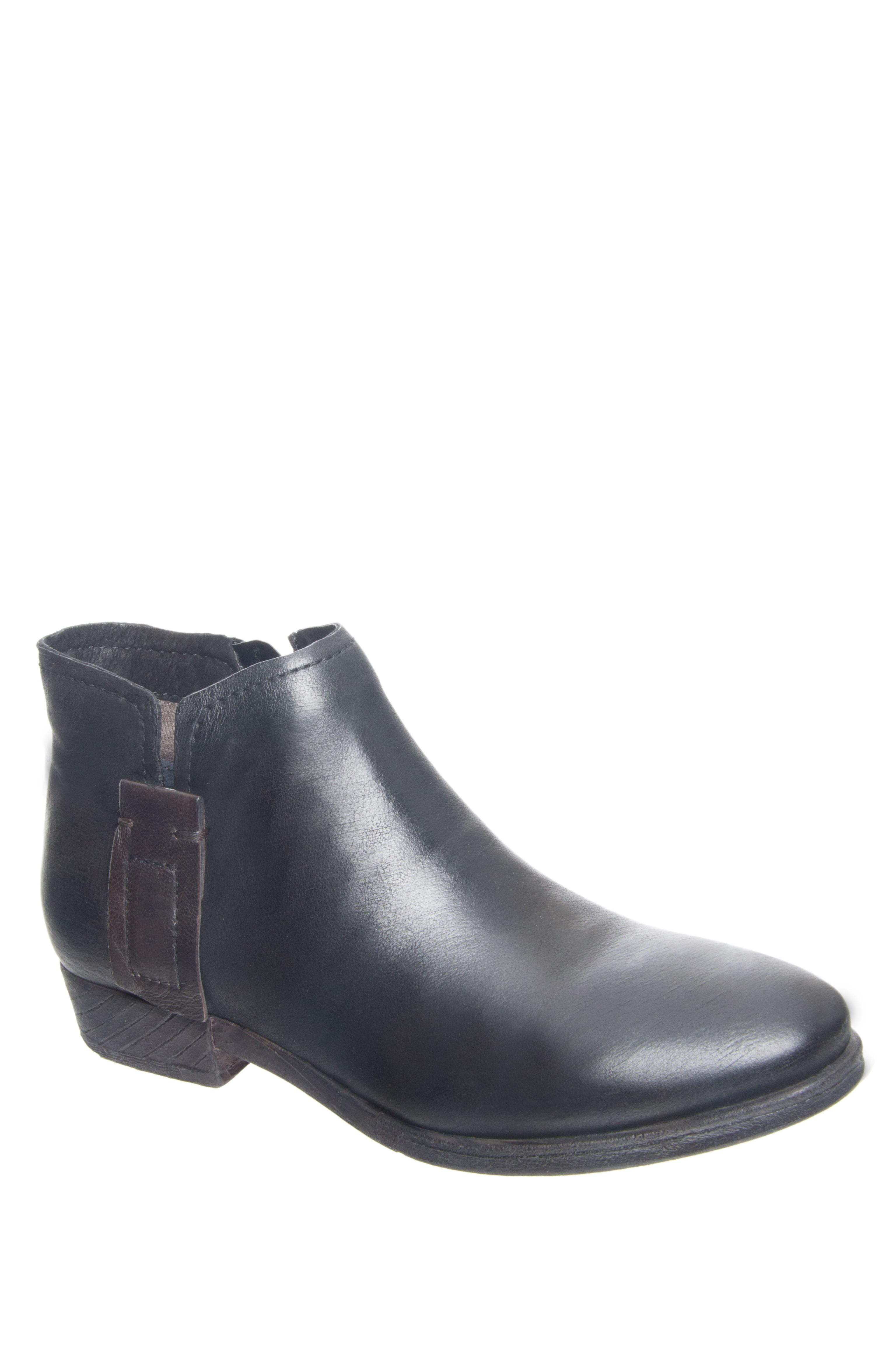 MIZ MOOZ Darius Low Heel Booties - Black