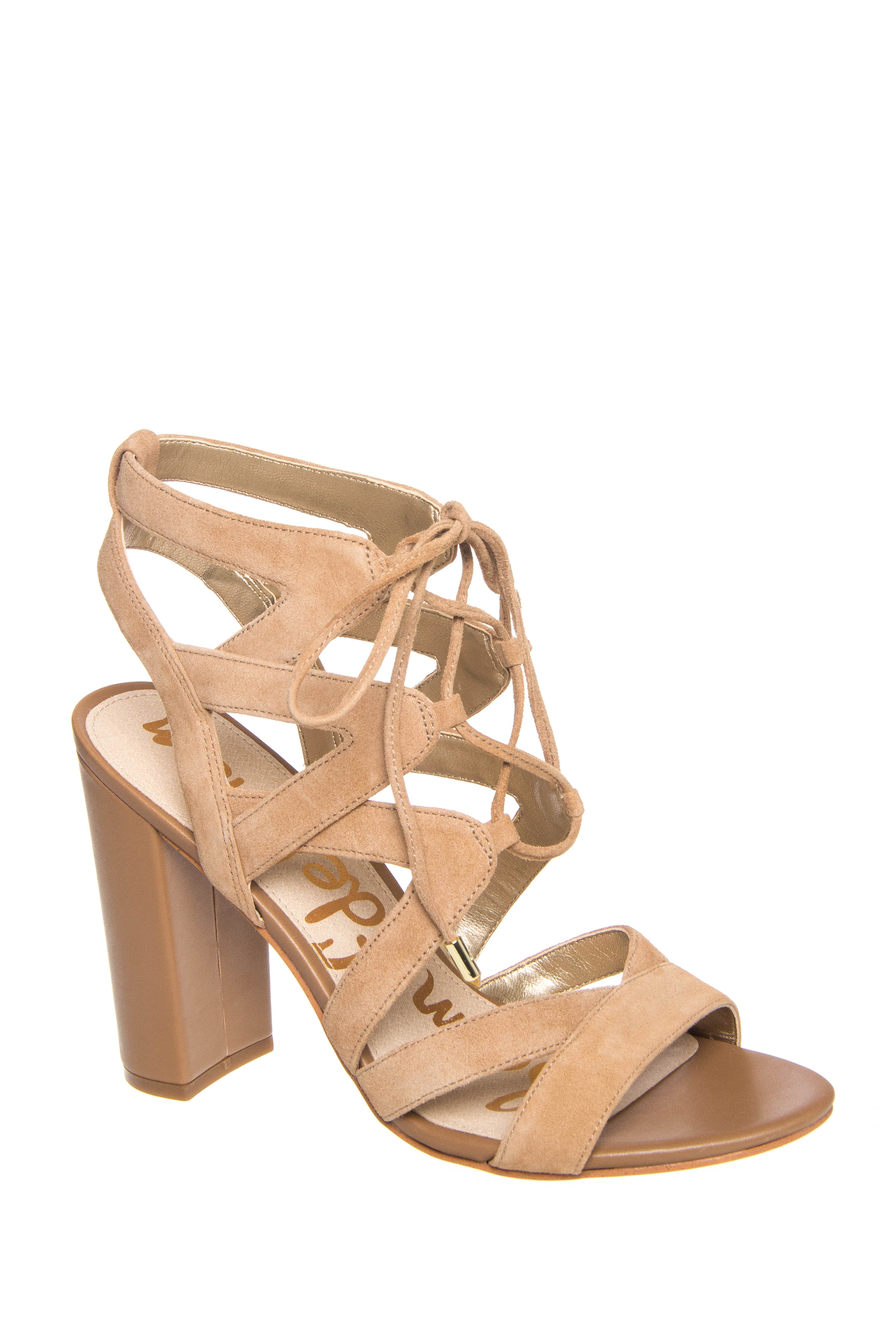 Sam Edelman Yardley High Heel Lace Up Sandals