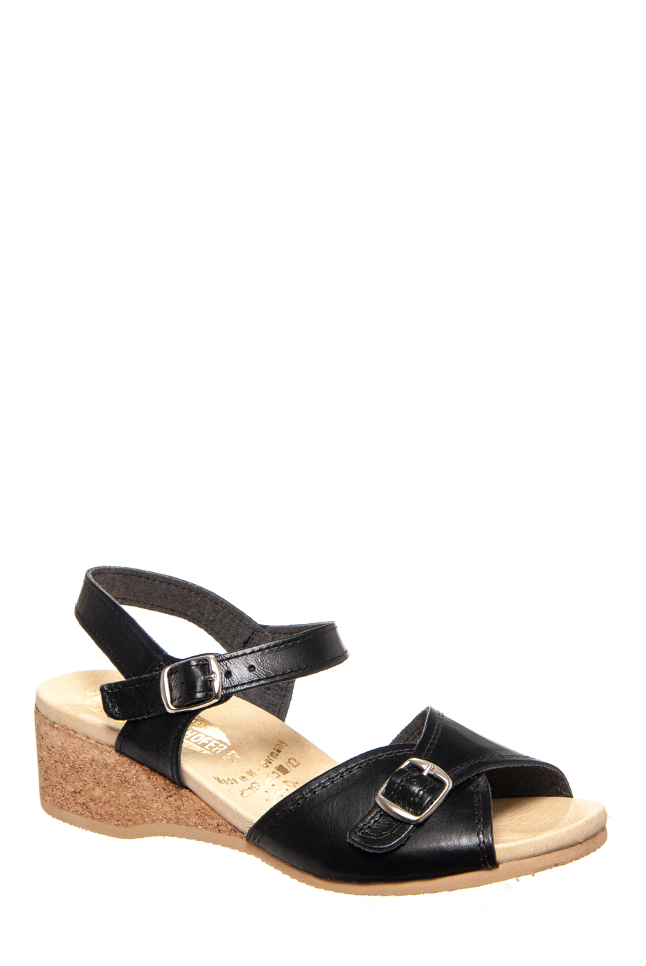 Worishofer 711 Low Wedge Sandals