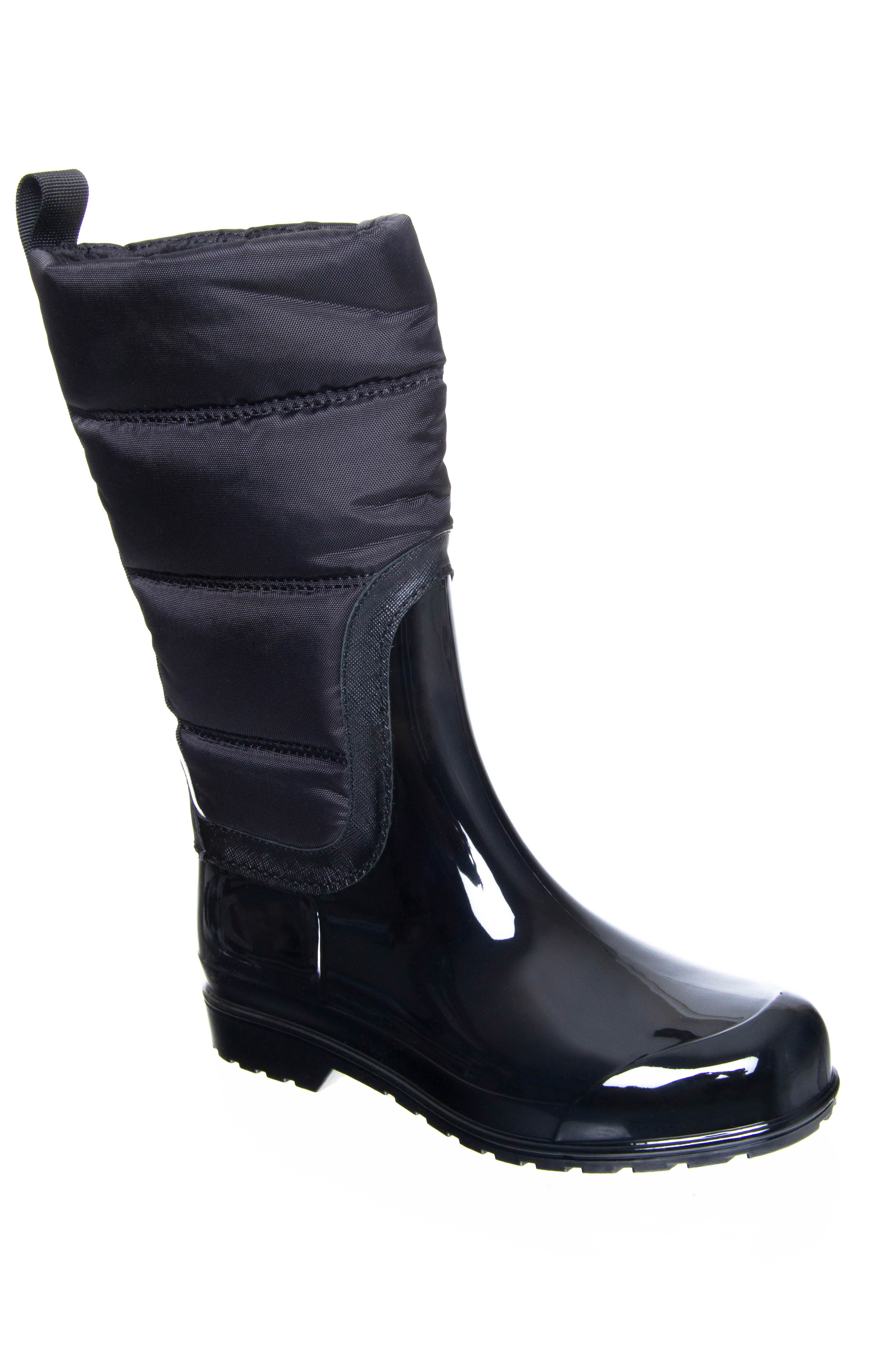 Michael Kors Cabot Quilted Rain Boots - Black