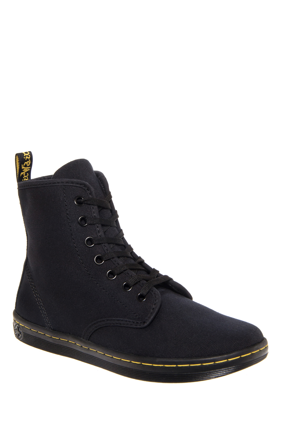 Dr. Martens Shoreditch Canvas High Top Sneakers - Black Canvas