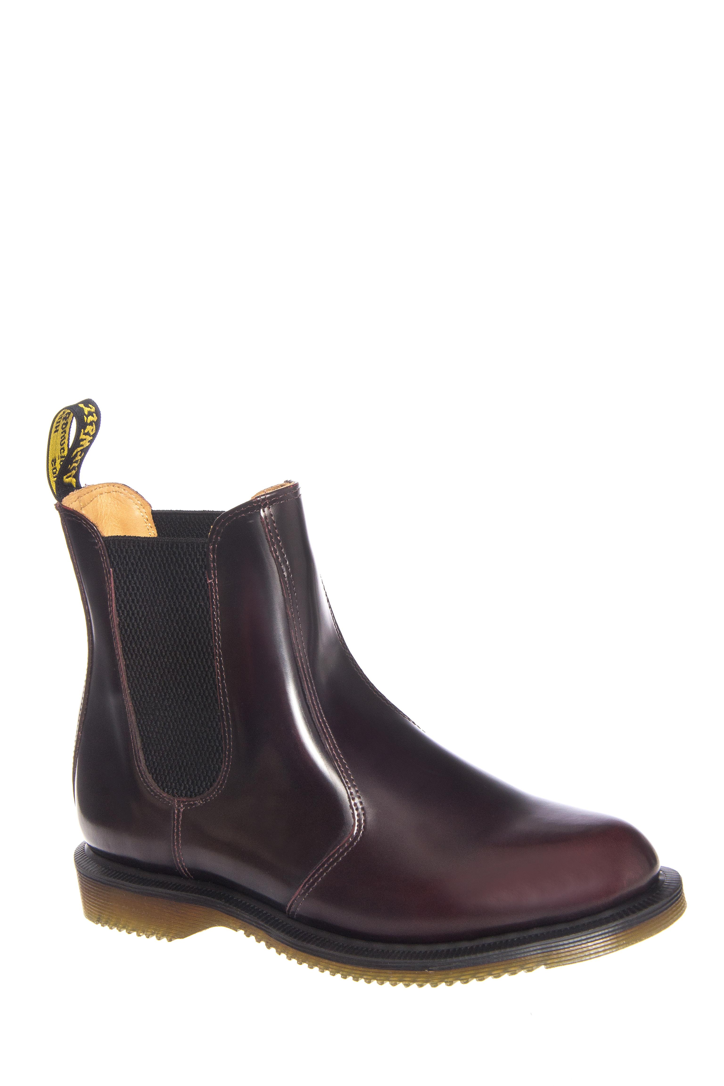 Dr. Martens Flora Chelsea Boots - Cherry