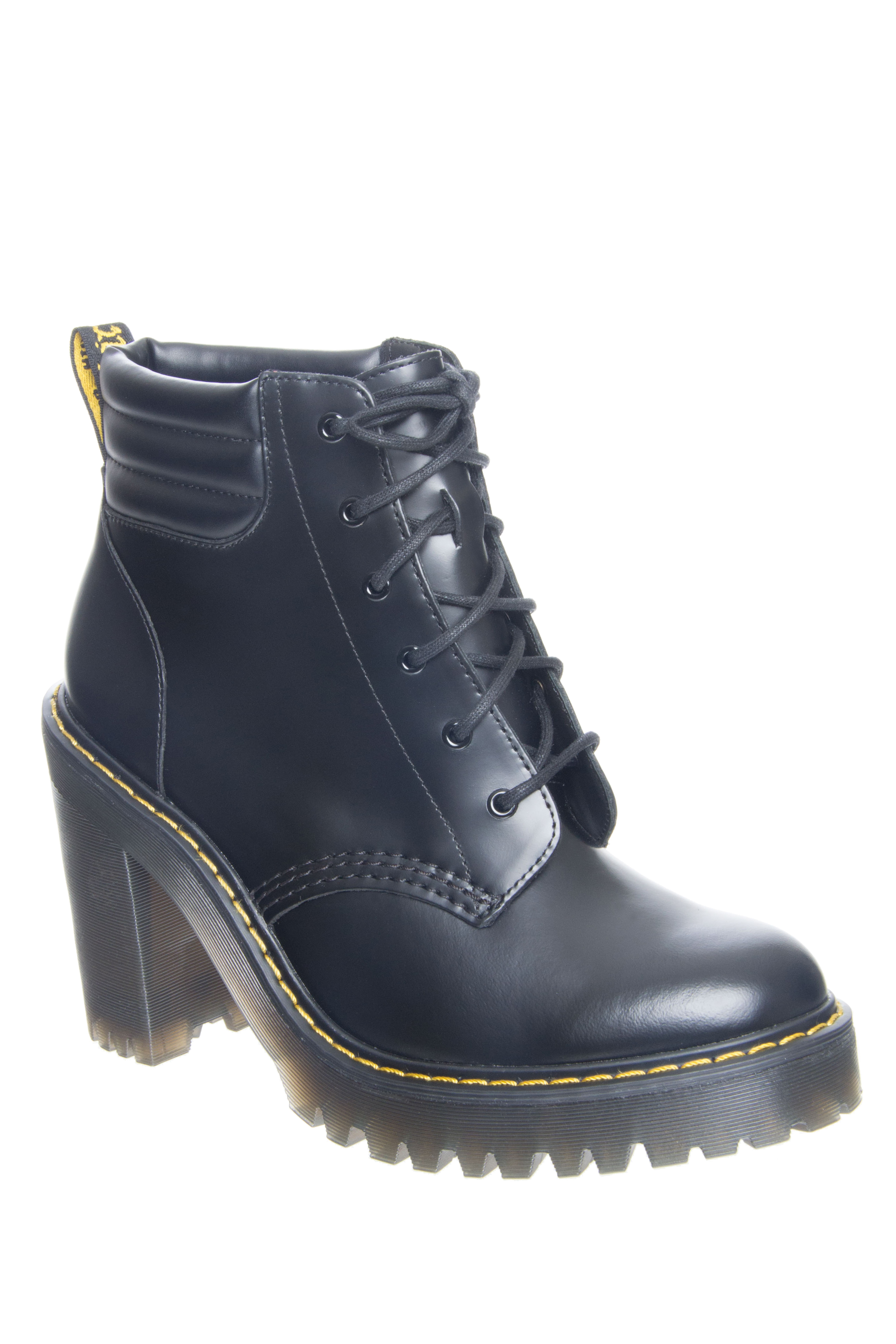 Dr. Martens Perseophone High Heel Booties - Black