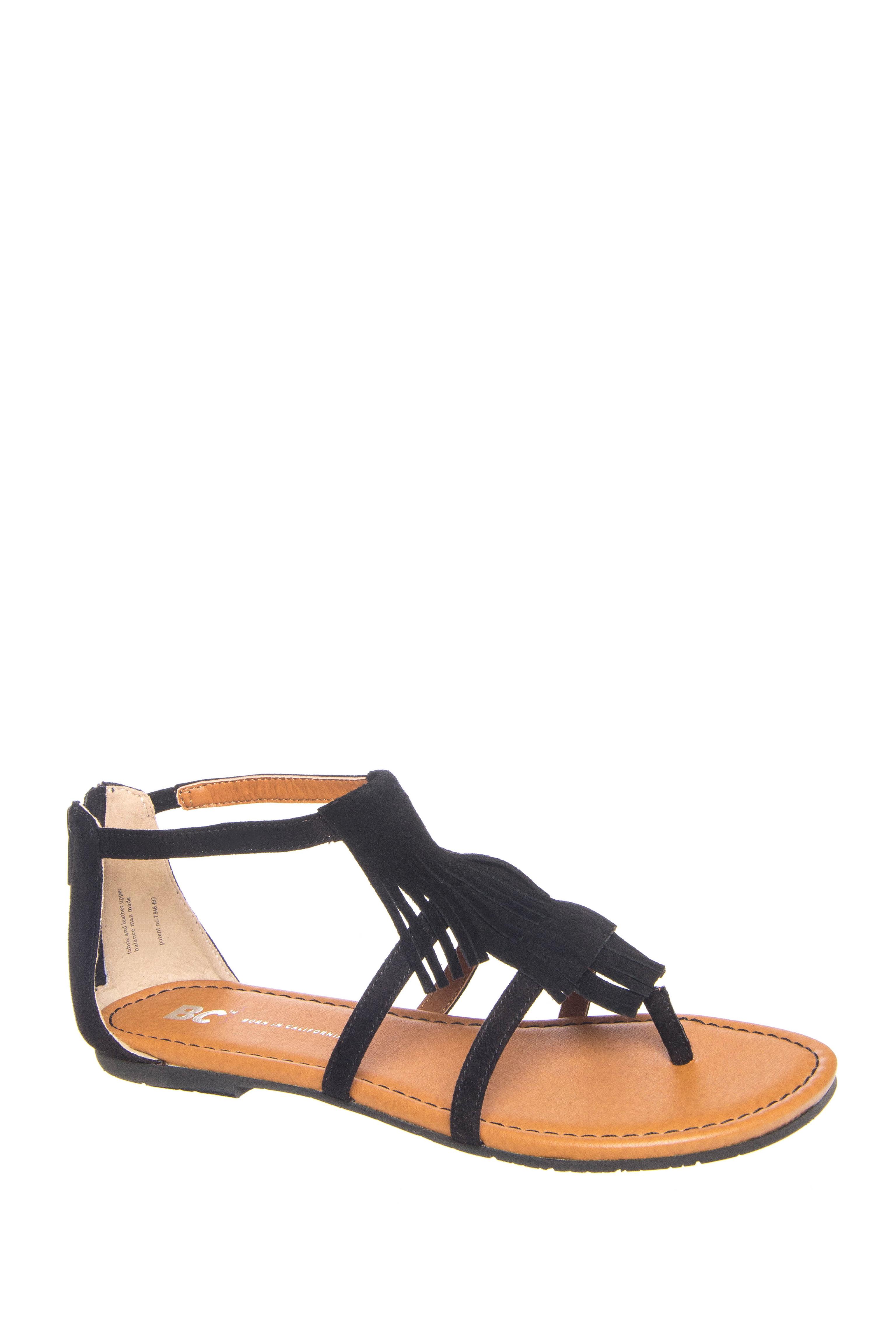 BC Footwear Maltese II Sandals - Black
