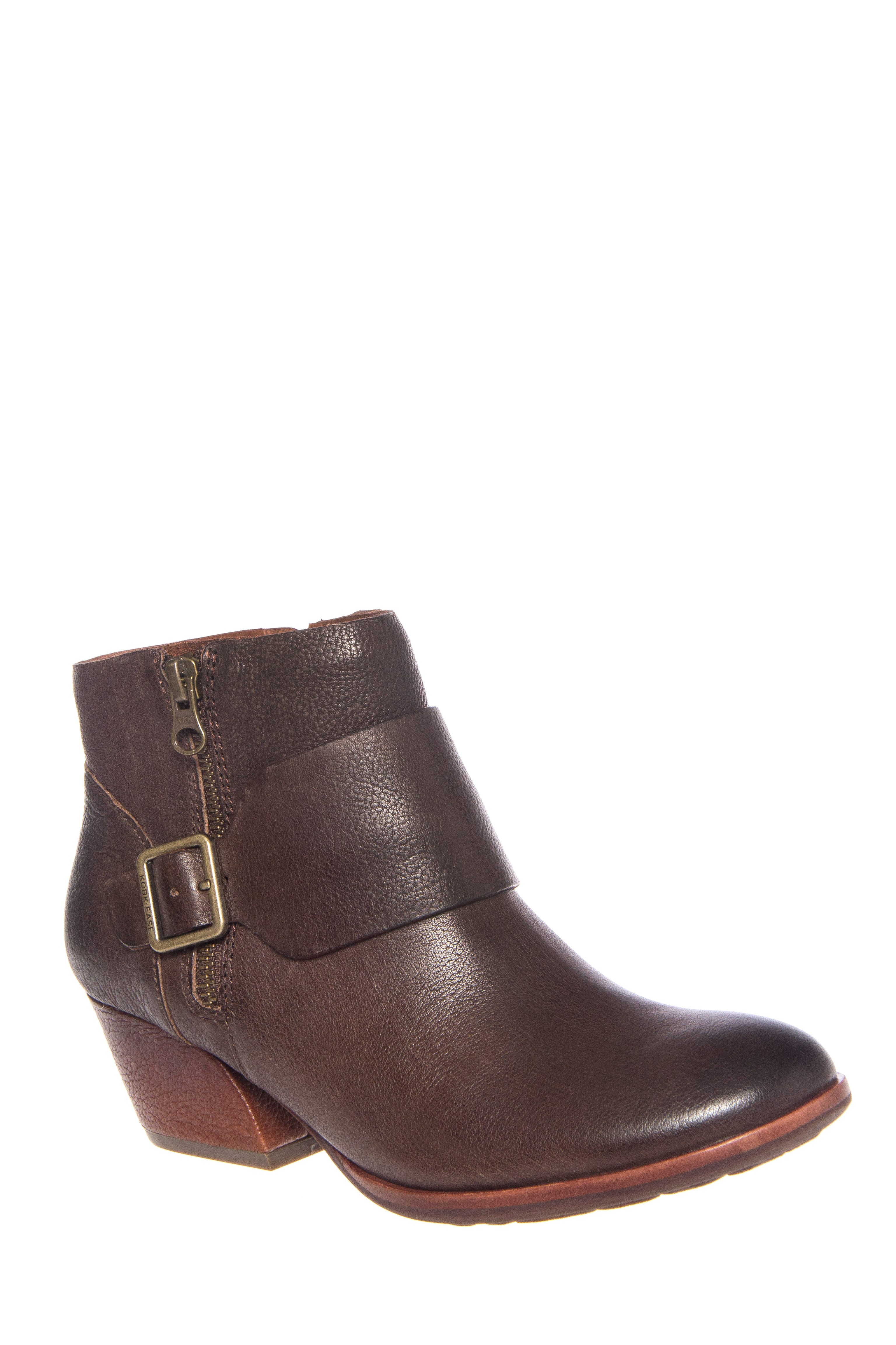 Kork-Ease Isa Low Heel Ankle Booties