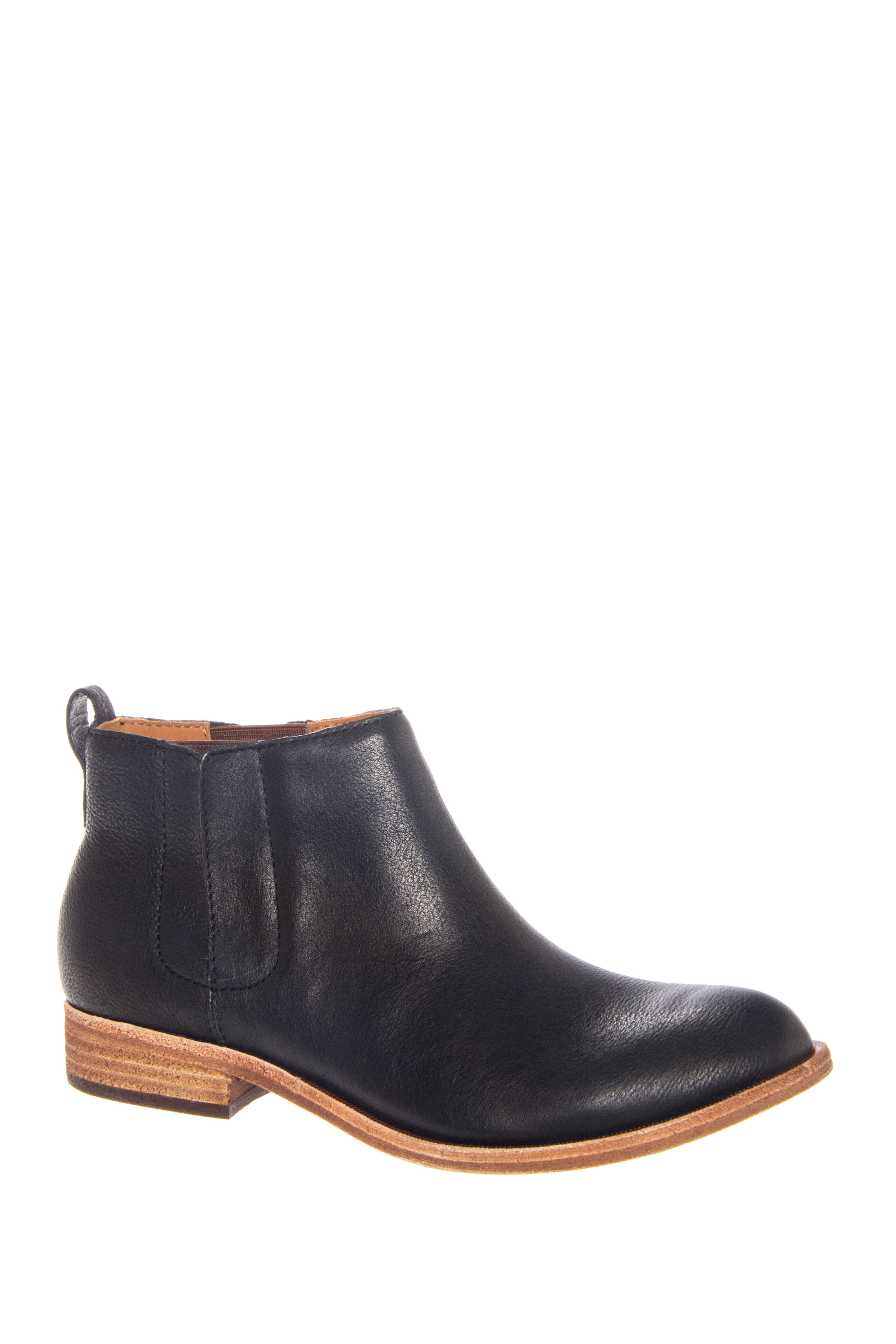 Kork-Ease Velma Low Heel Ankle Boots - Black