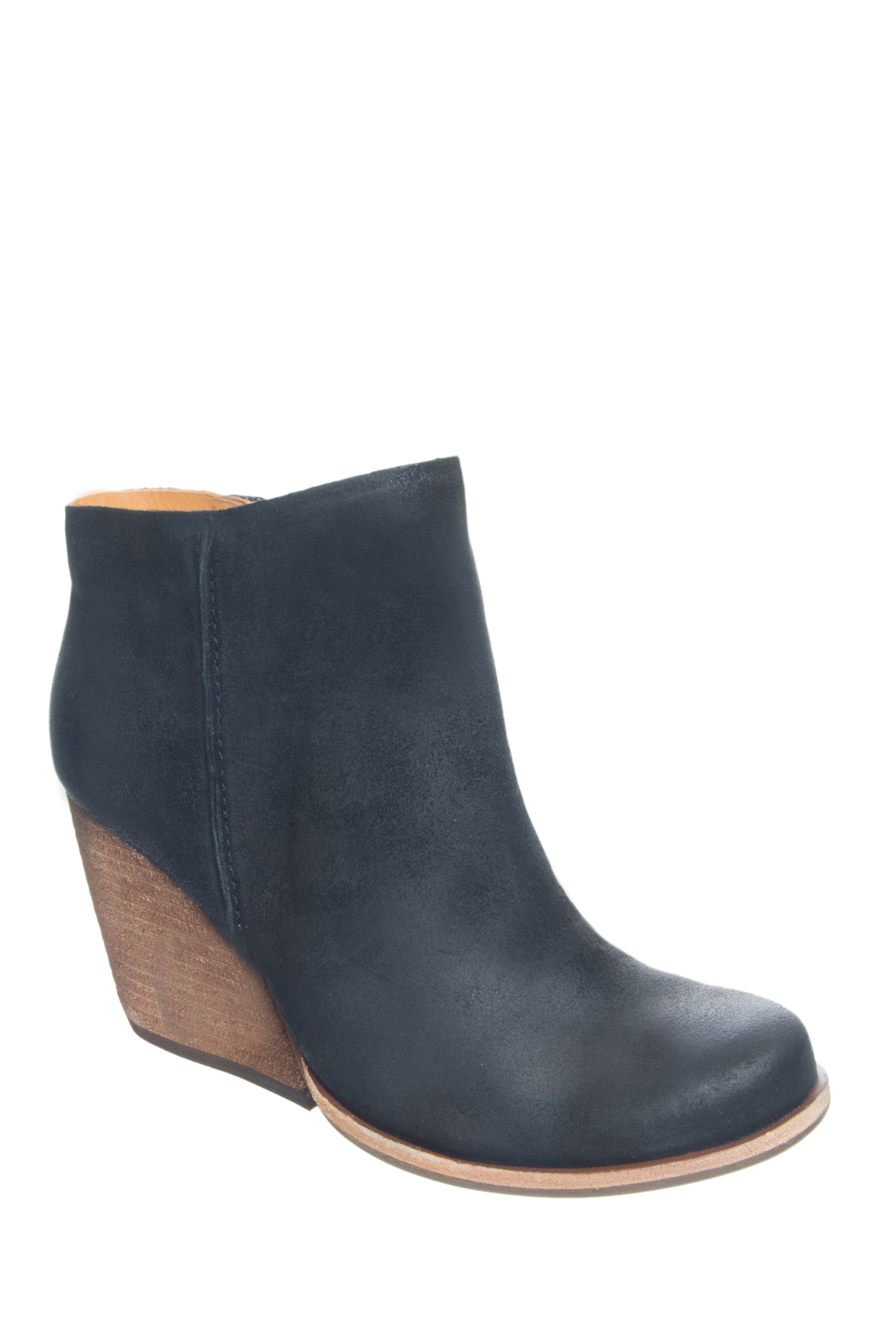 Kork-Ease Natalya High Heel Booties - Black