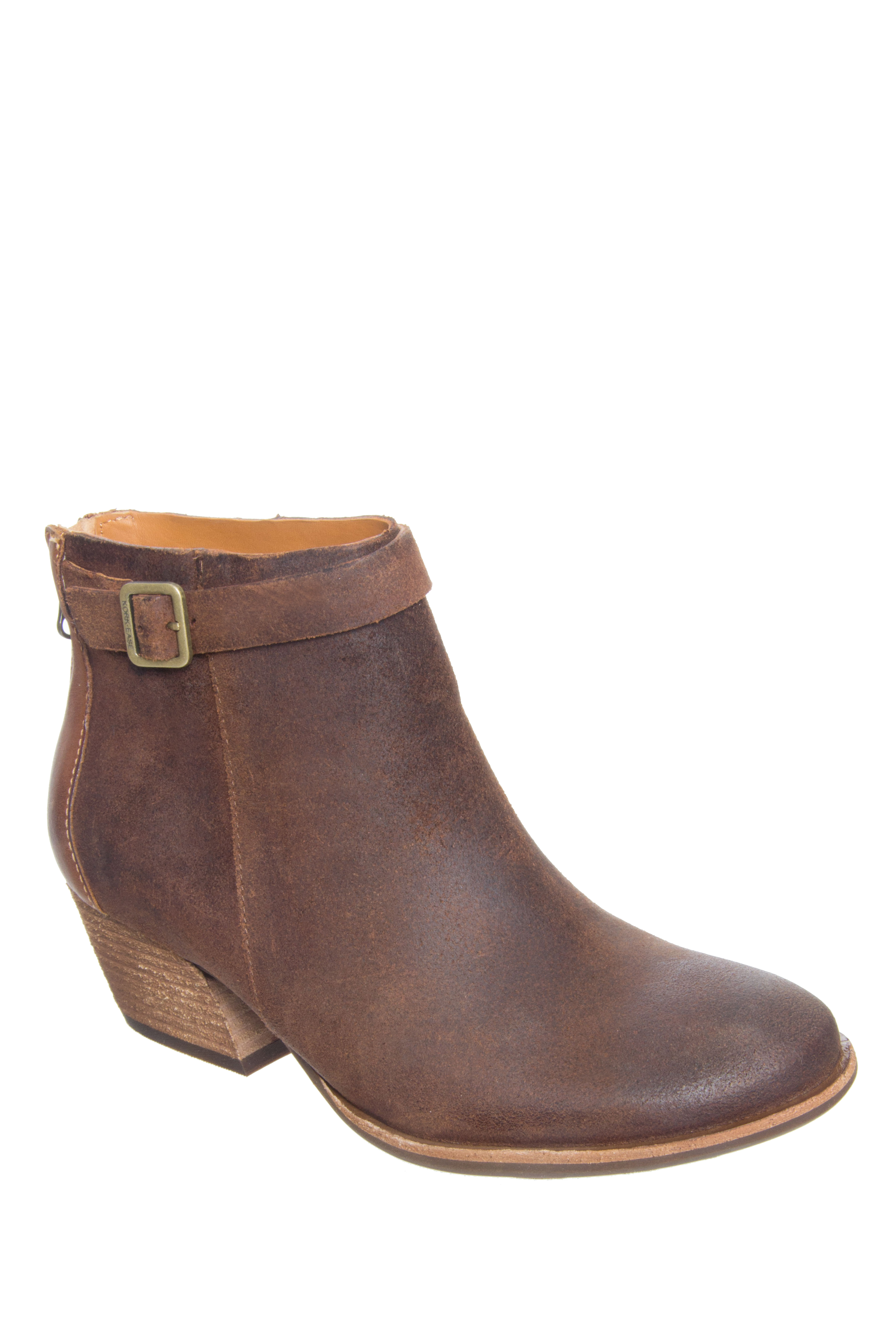 Kork-Ease Maddelena Mid Heel Booties - Tenne / Tan