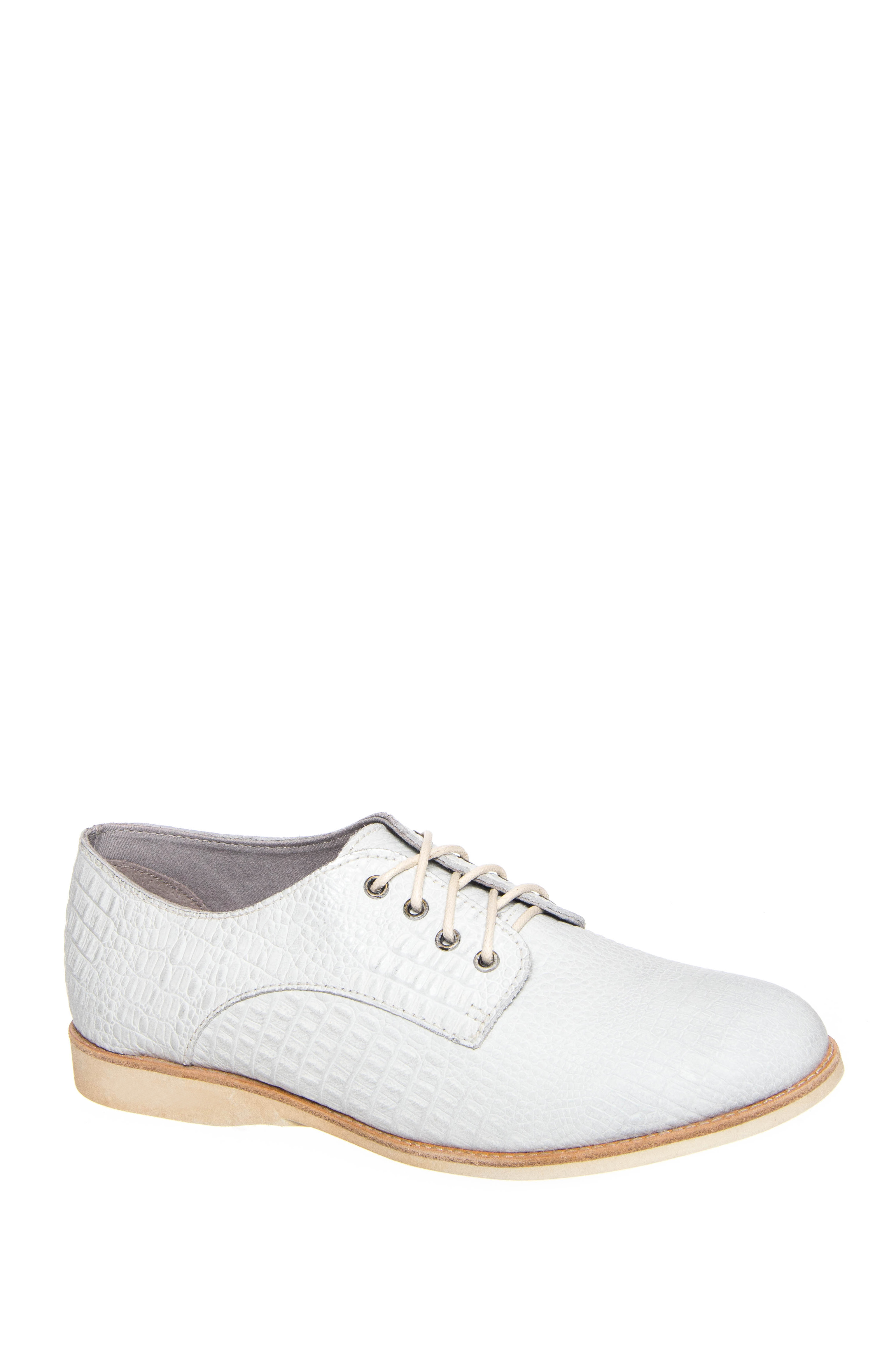 Rollie Nation Derby Lizard Low Heel Oxford