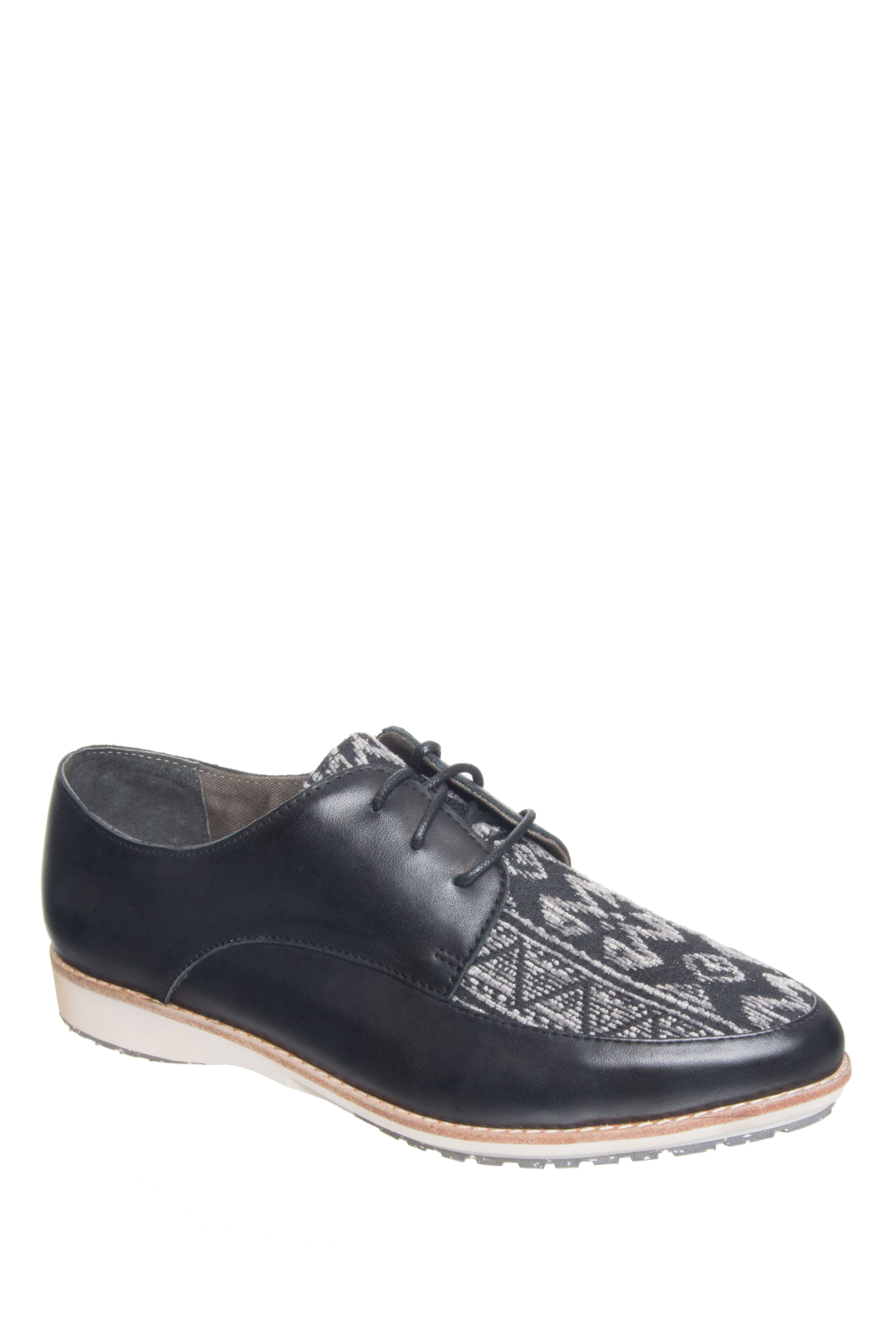 Rollie Nation Madison Derby Oxford  - Black Aztec