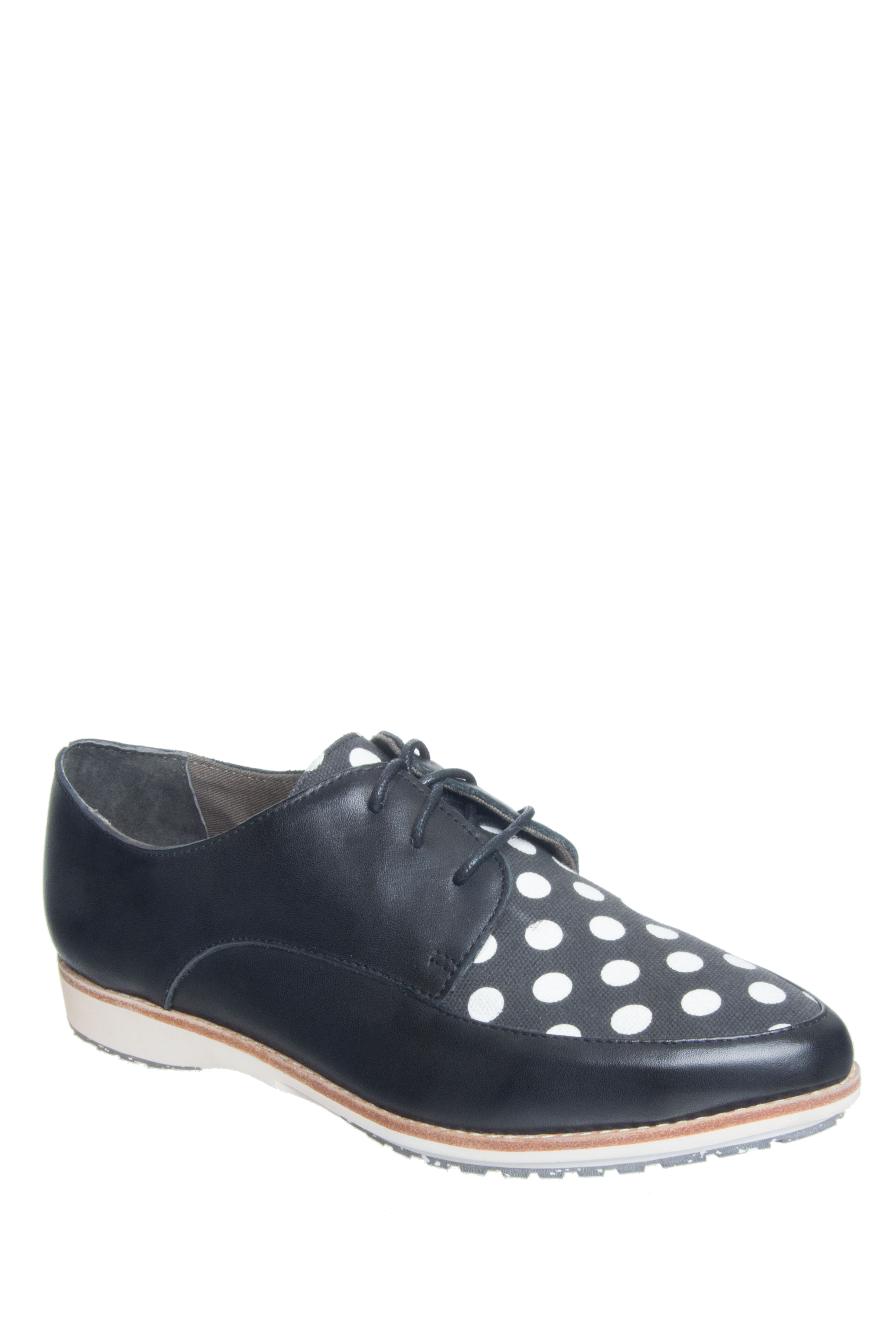 Rollie Nation Madison Derby Oxford - Black / Spot