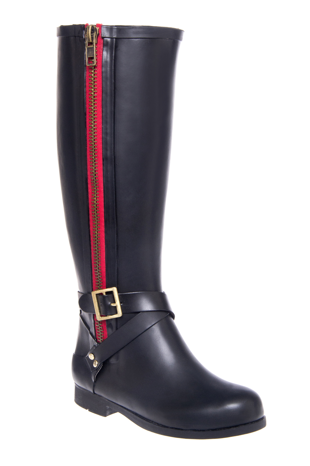 DNA Footwear Monsoon Mid-calf Rain Boots - Black