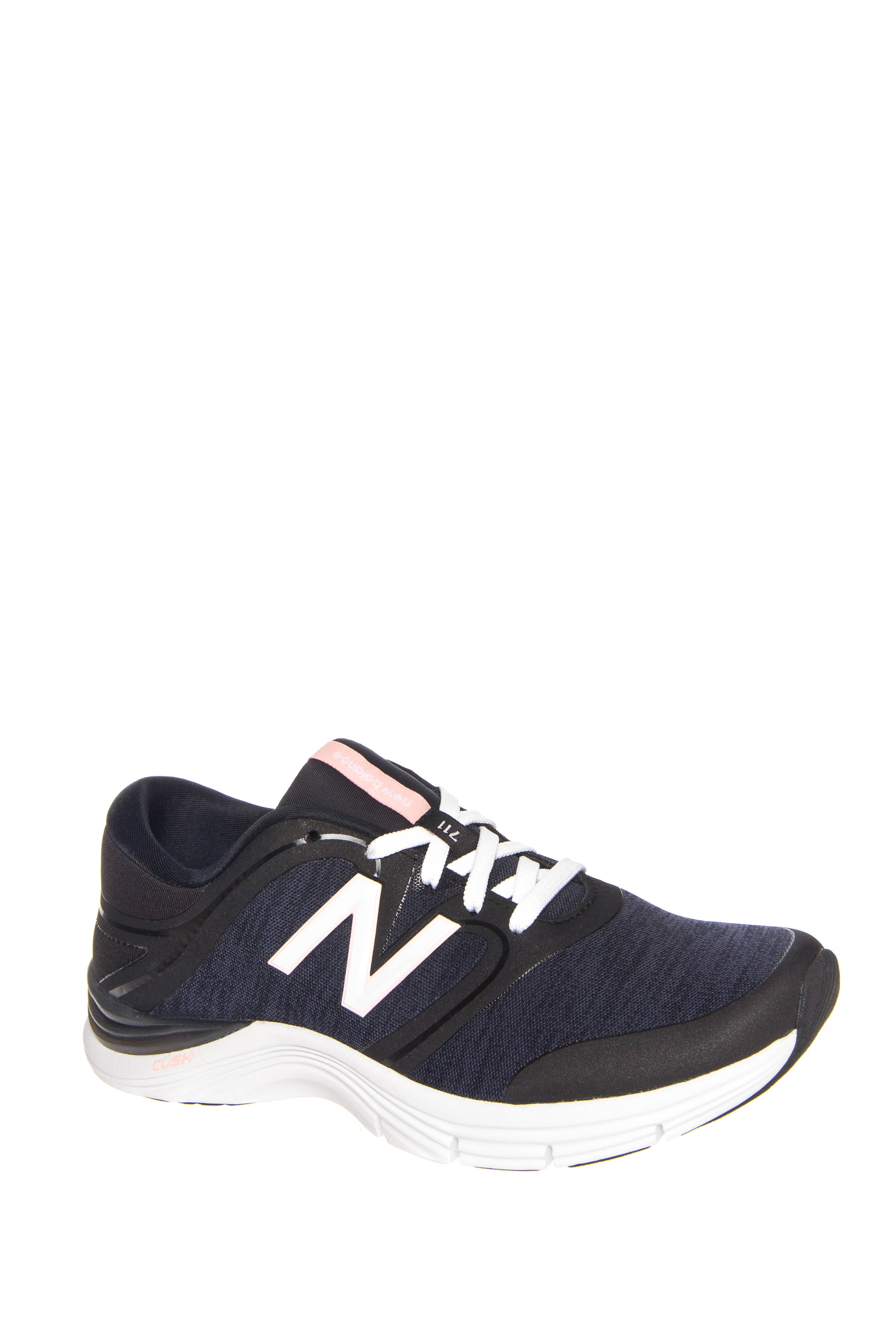 New Balance 711v2 Heathered Trainer Low Top Sneakers - Black