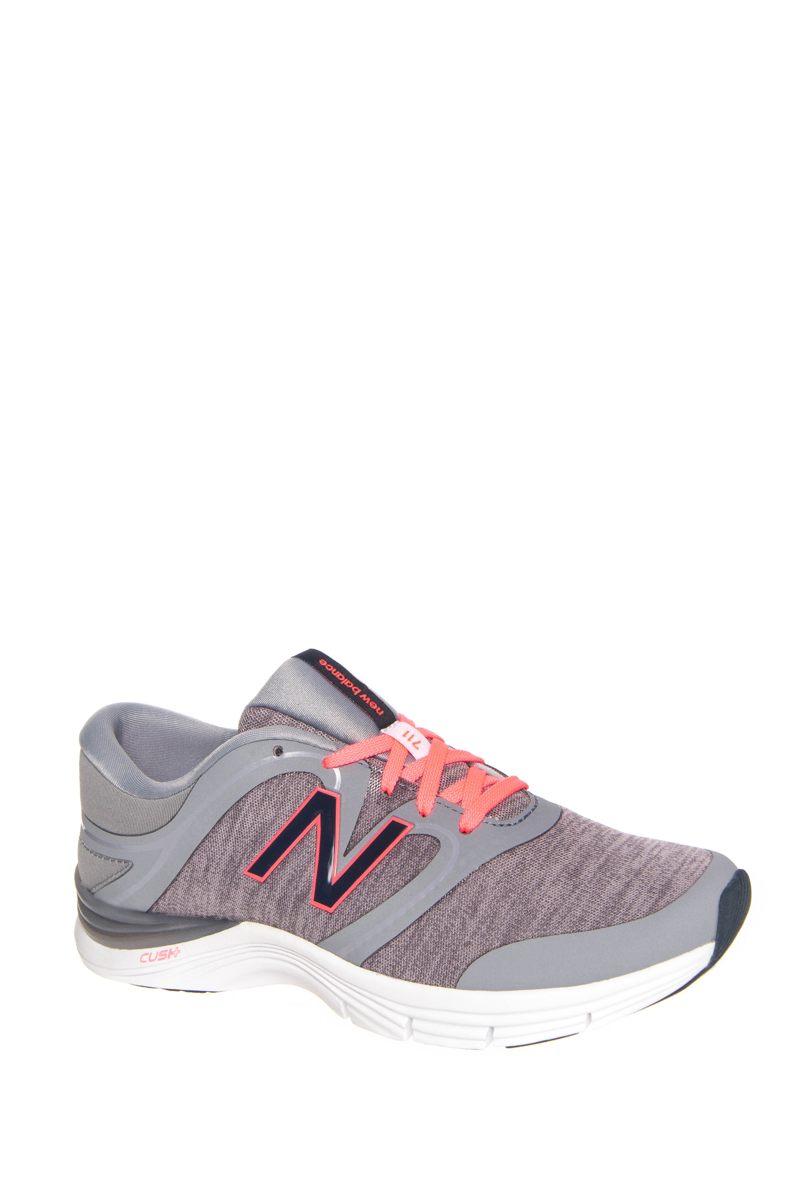 New Balance 711v2 Heathered Trainer Low Top Sneakers - Steel