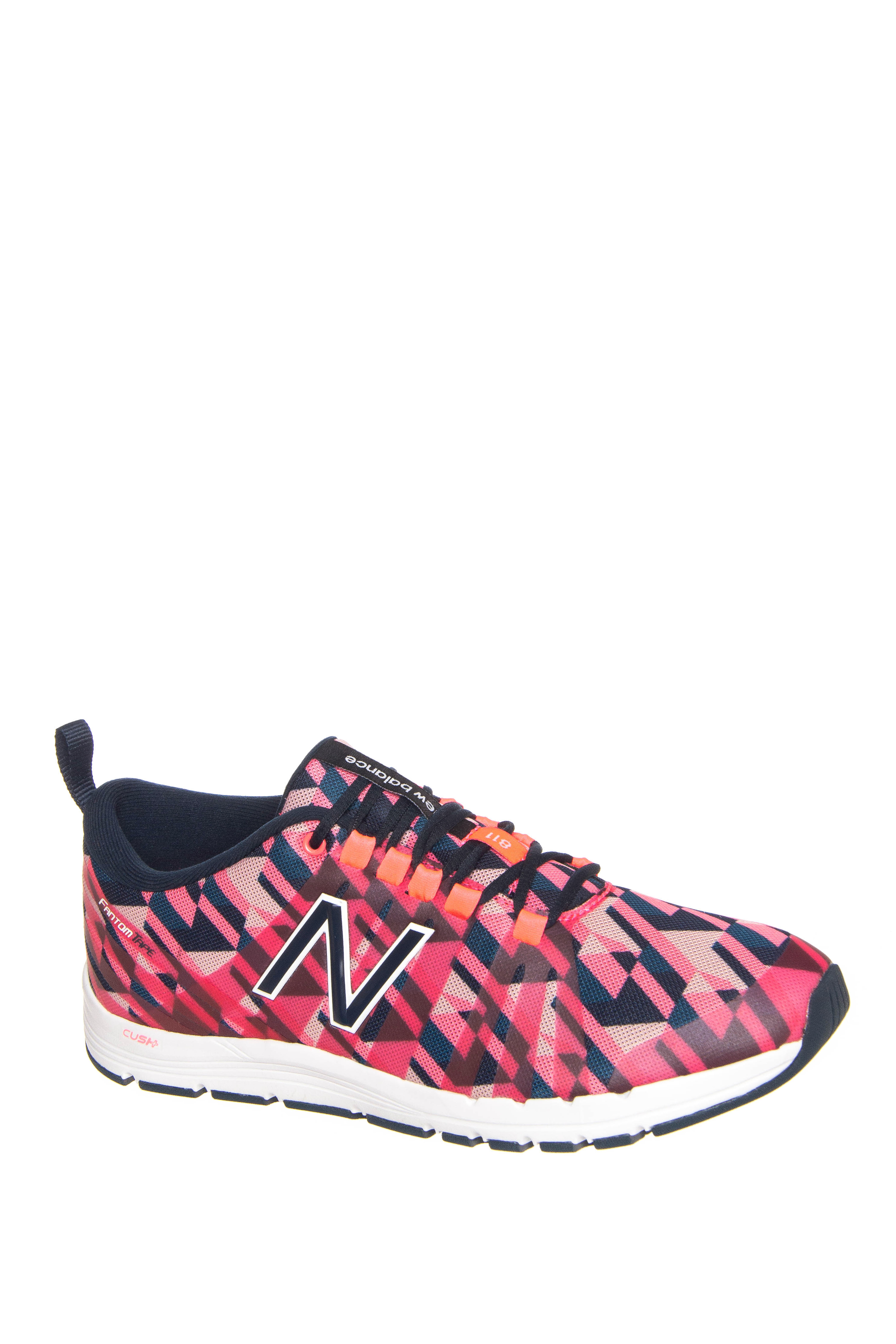 New Balance 811 Print Trainer Low Top Sneakers - Guava