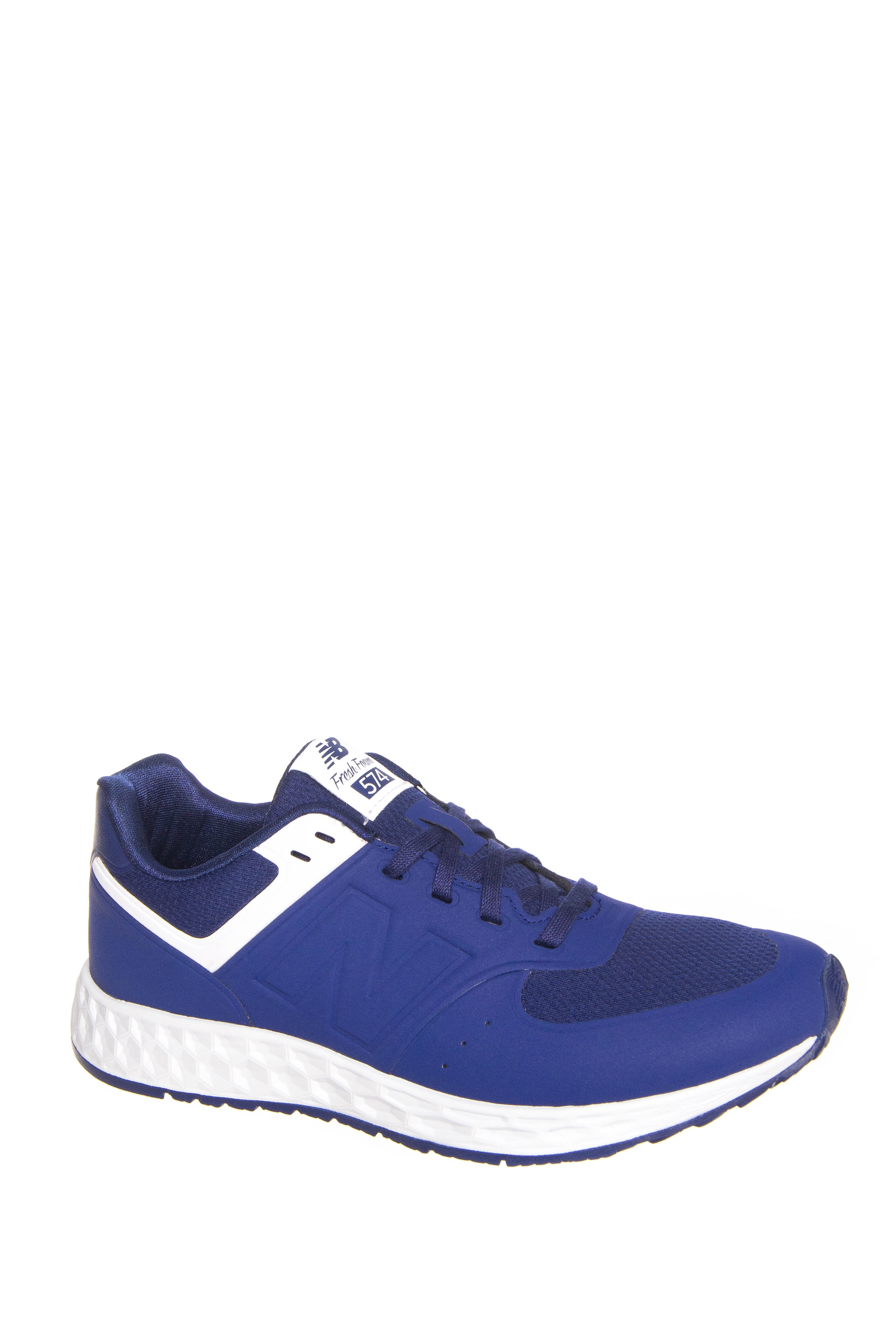 New Balance 598 Fresh Foam Low Top Sneakers - Basin / White