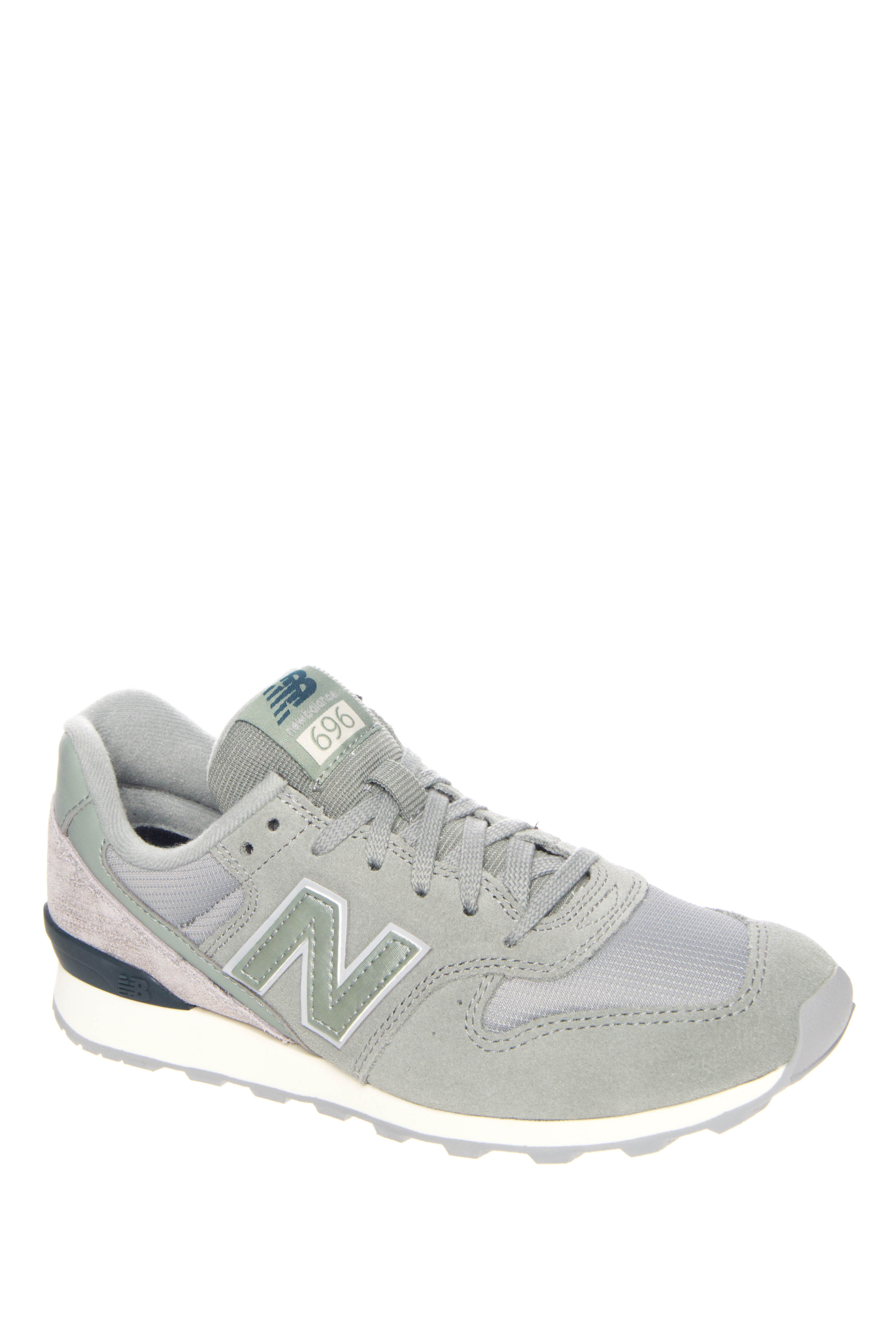 New Balance 696 Capsule Low Top Sneakers - Silver Mink / Lush / Seed