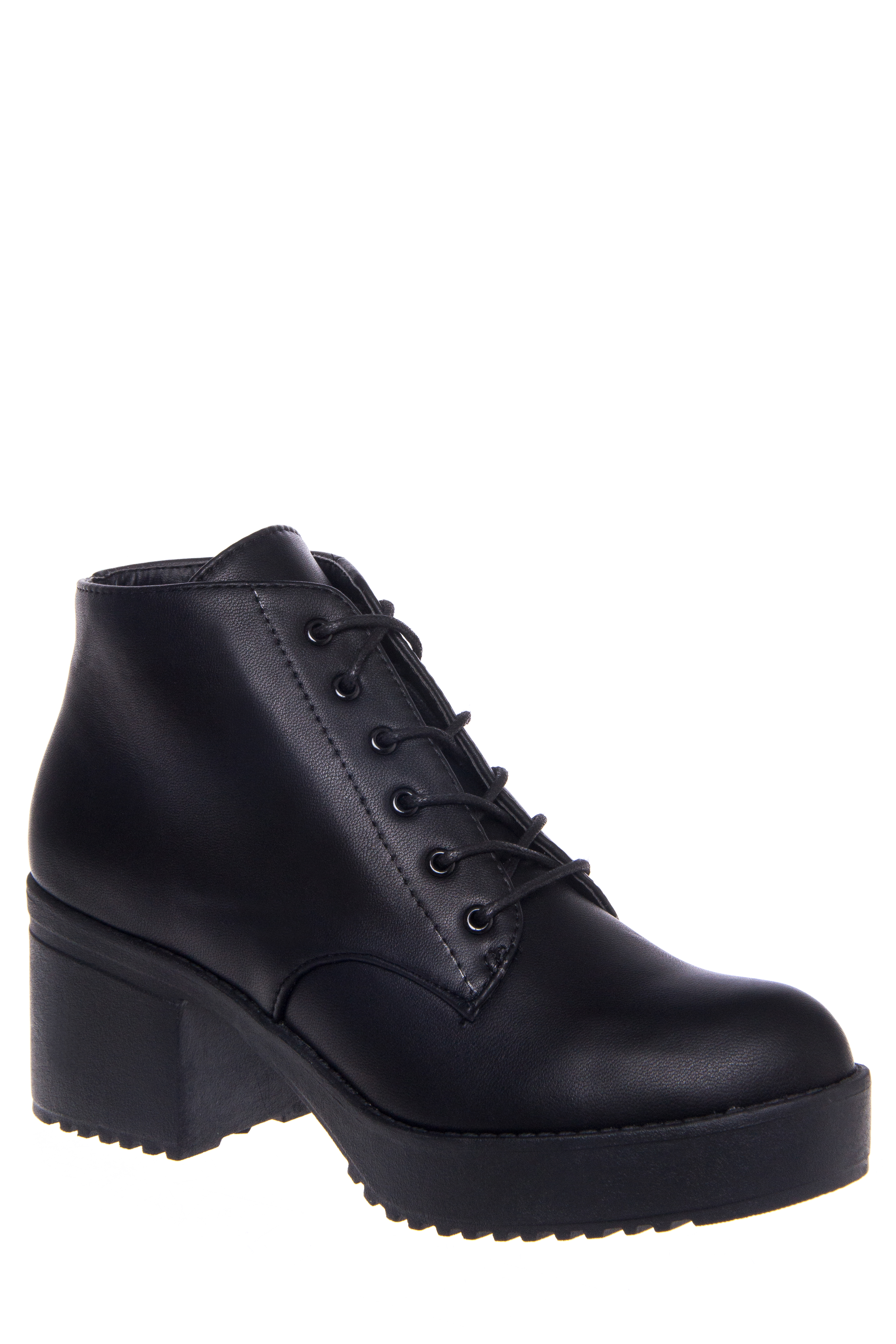 Wanted Knockout Lace-Up Bootie