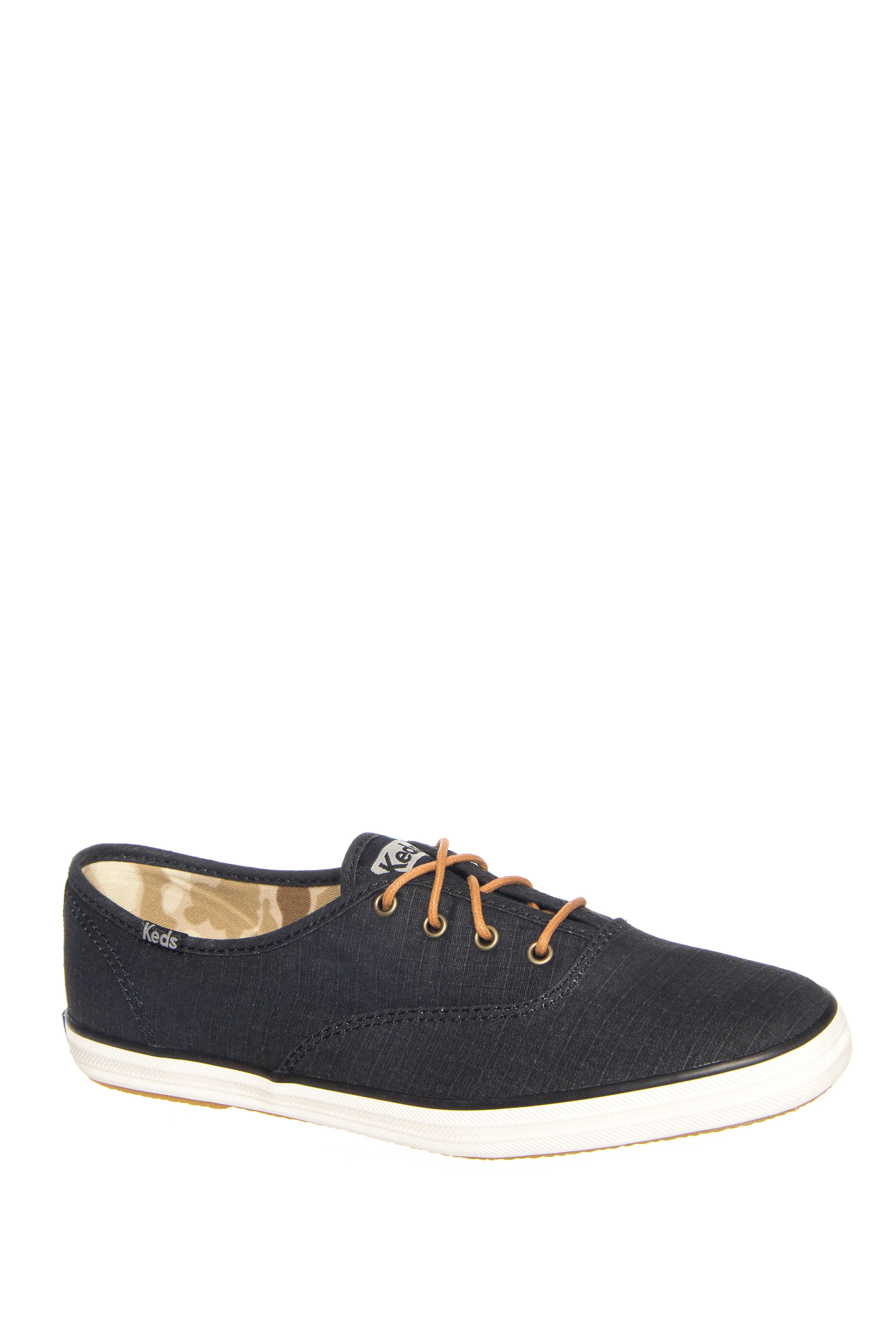Keds Champion Ripstop Low Top Sneakers - Black