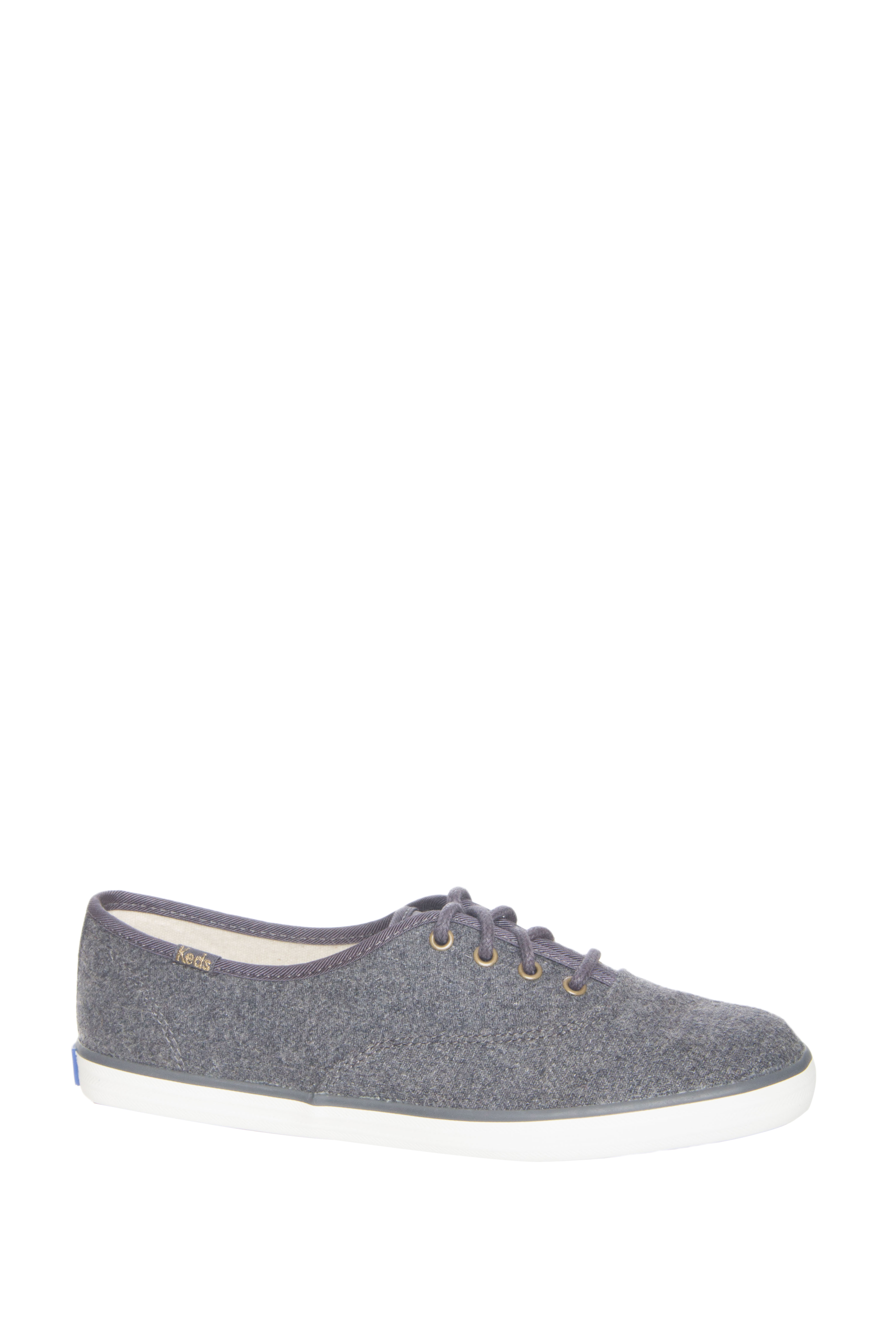 Keds Champion Wool Low Top Sneakers - Charcoal