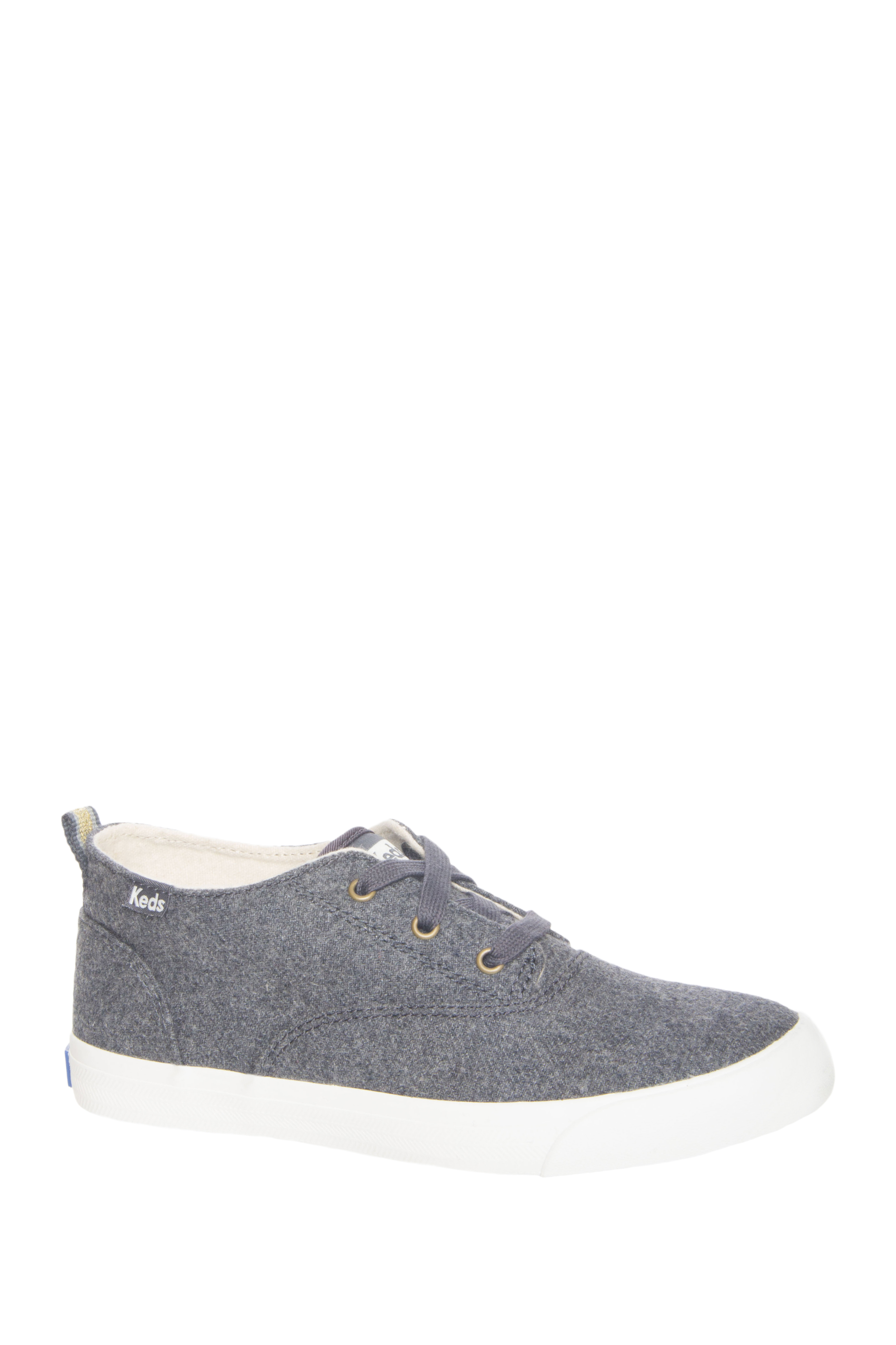 Keds Triumph Mid Top Wool Sneakers - Graphite
