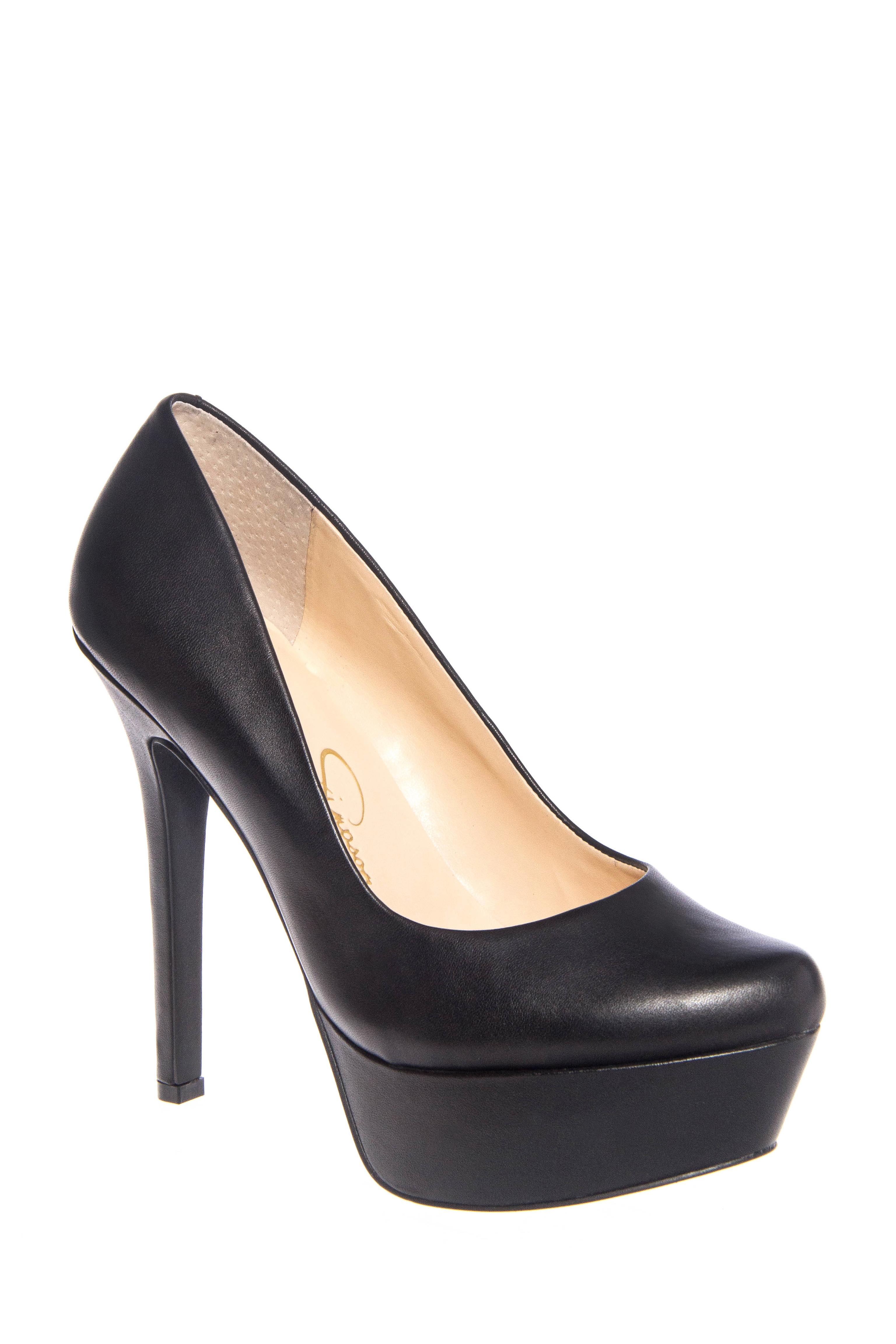 Jessica Simpson Waleo High Heel Platform Pumps - Black