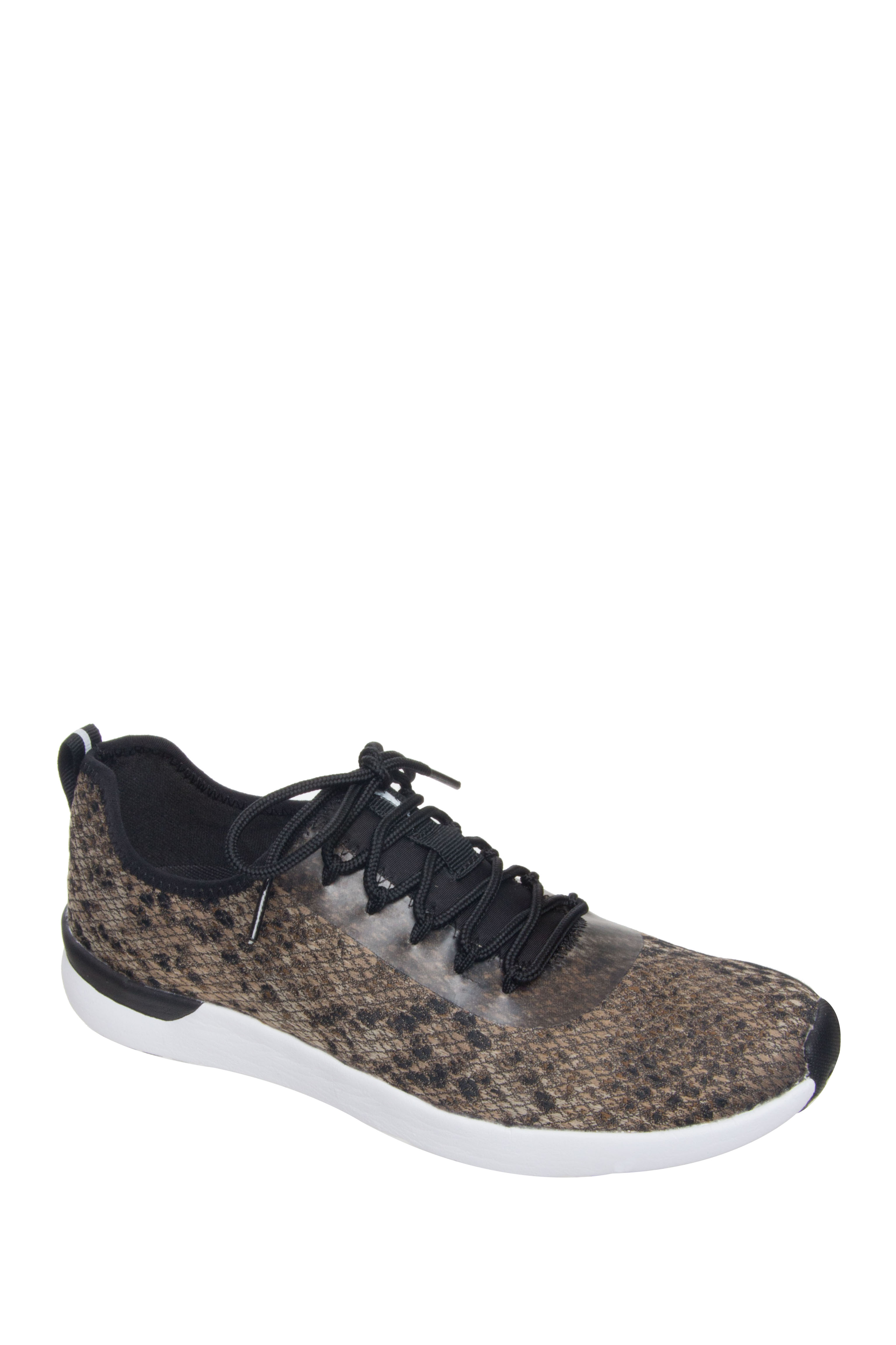 Jessica Simpson Farahh Low Top Sneakers - Natural Python