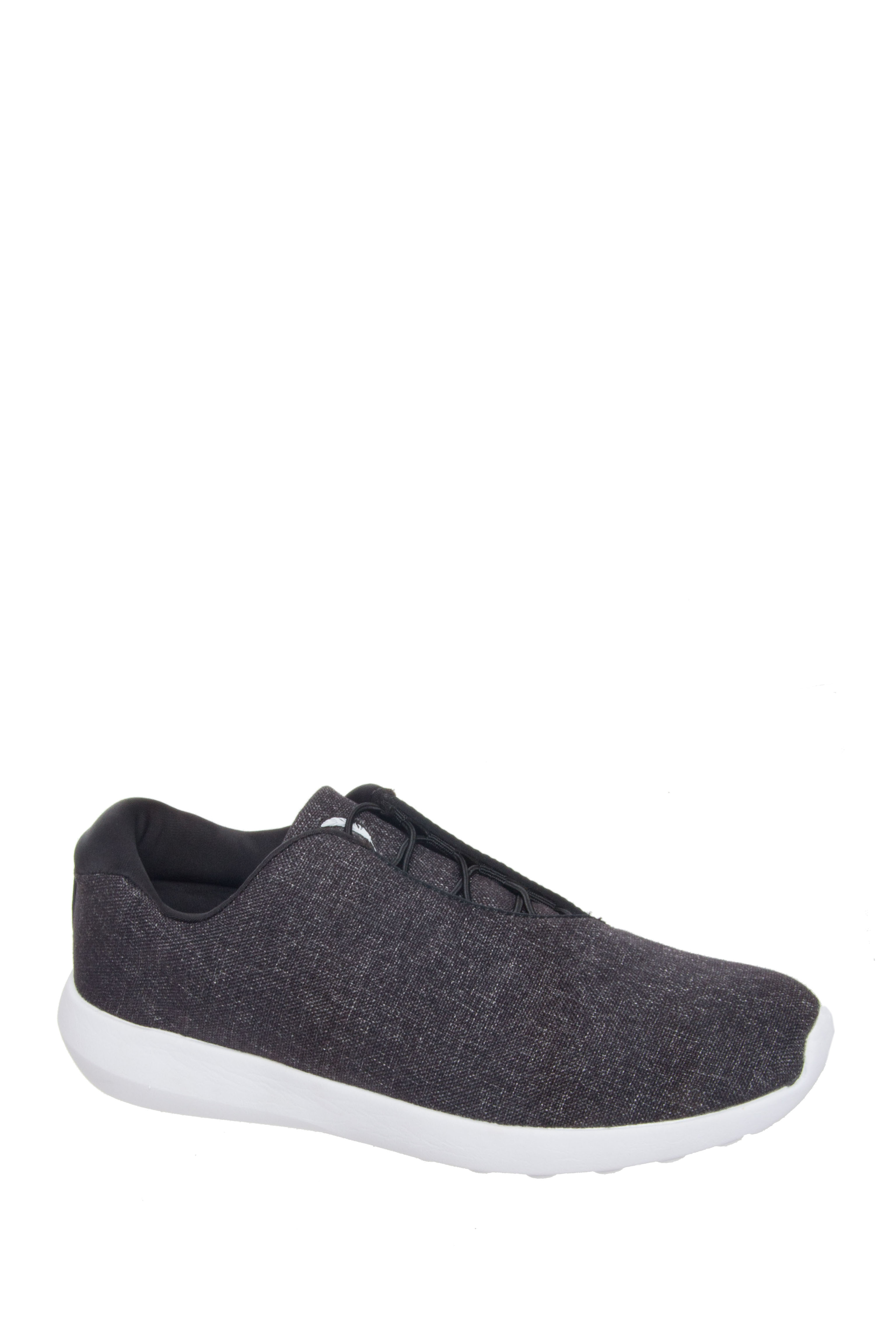 Jessica Simpson Nessa Low Top Sneakers - Black Heather