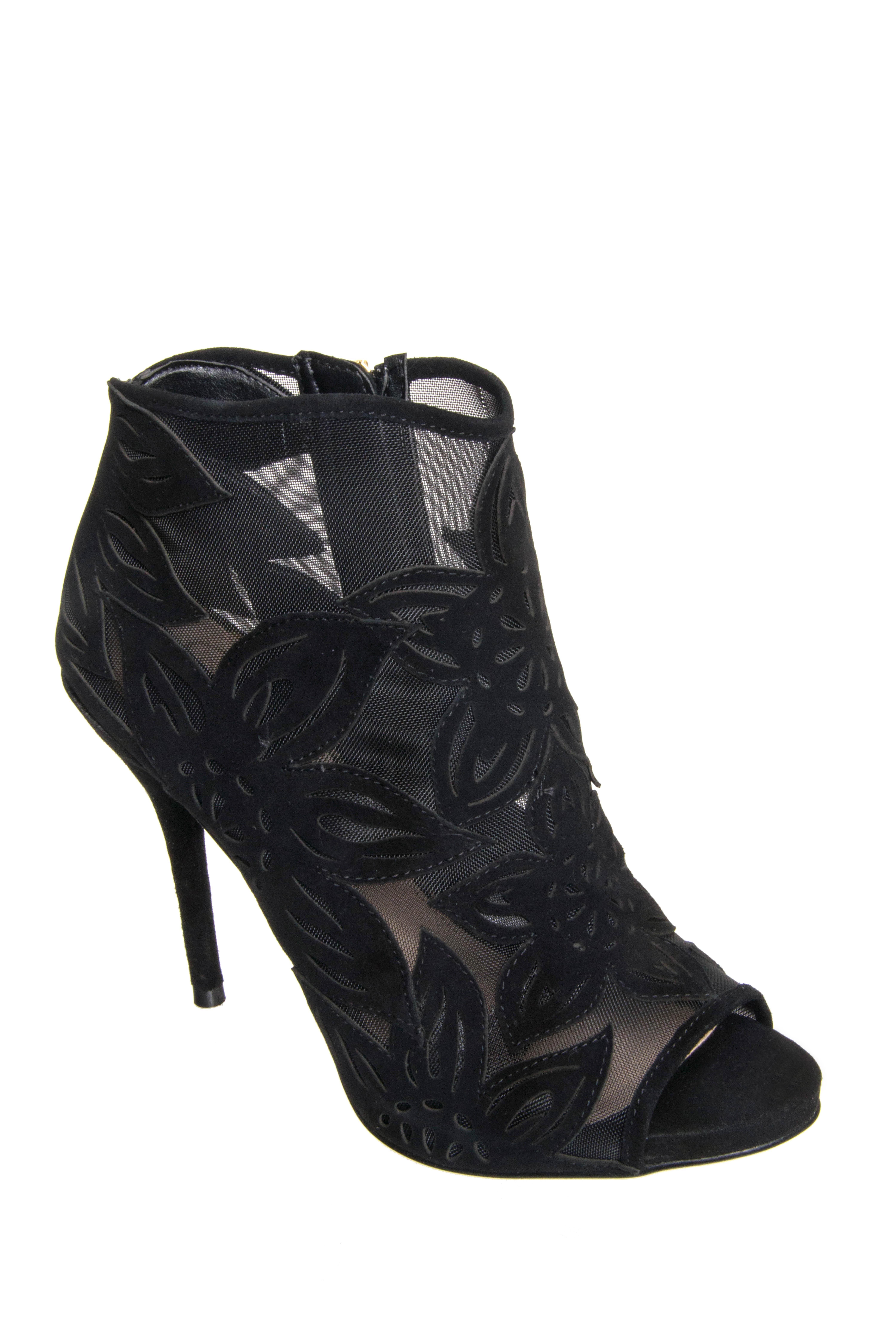 Jessica Simpson Bliths High Heel Booties - Black