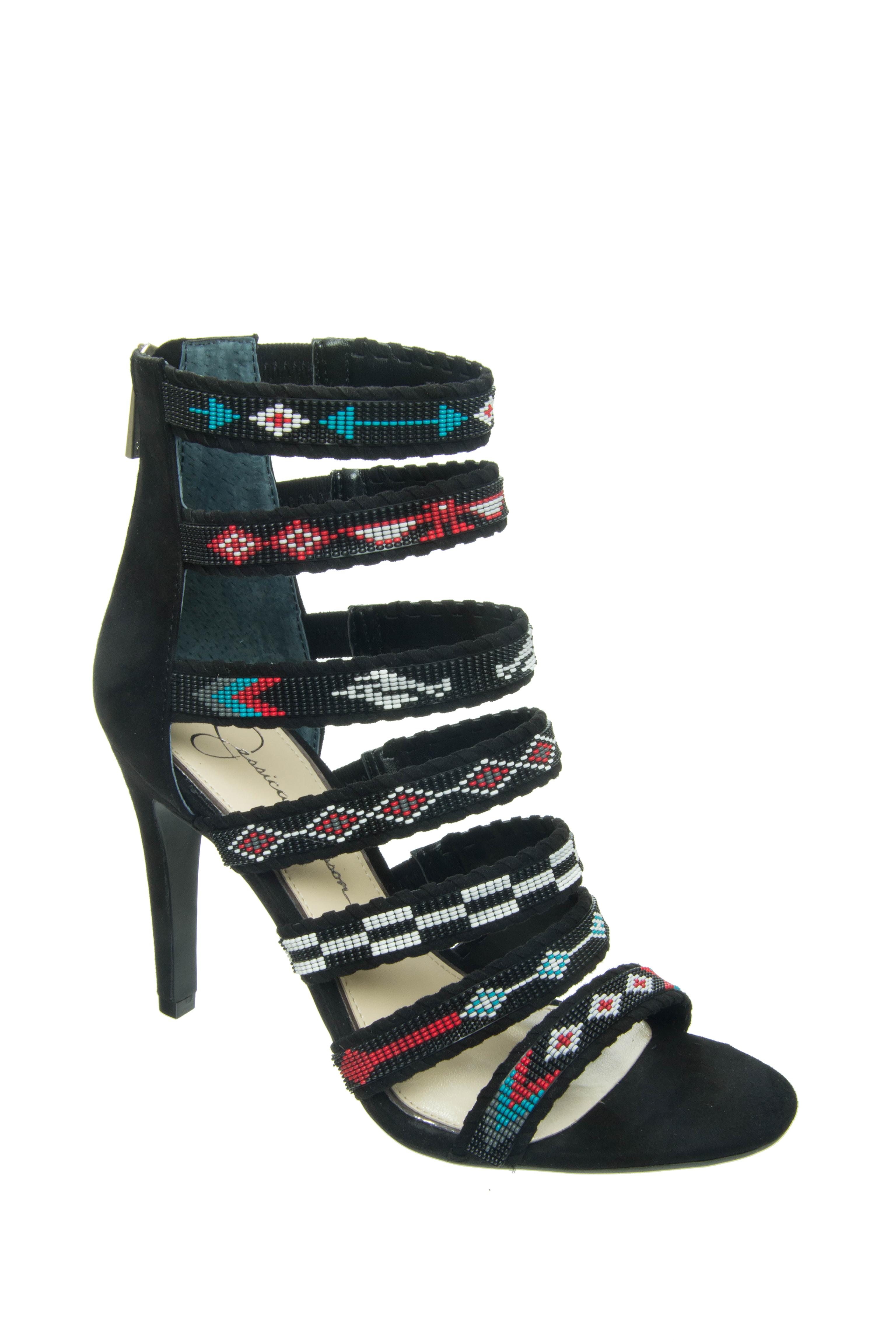 Jessica Simpson Erienne High Heel Sandals - Black