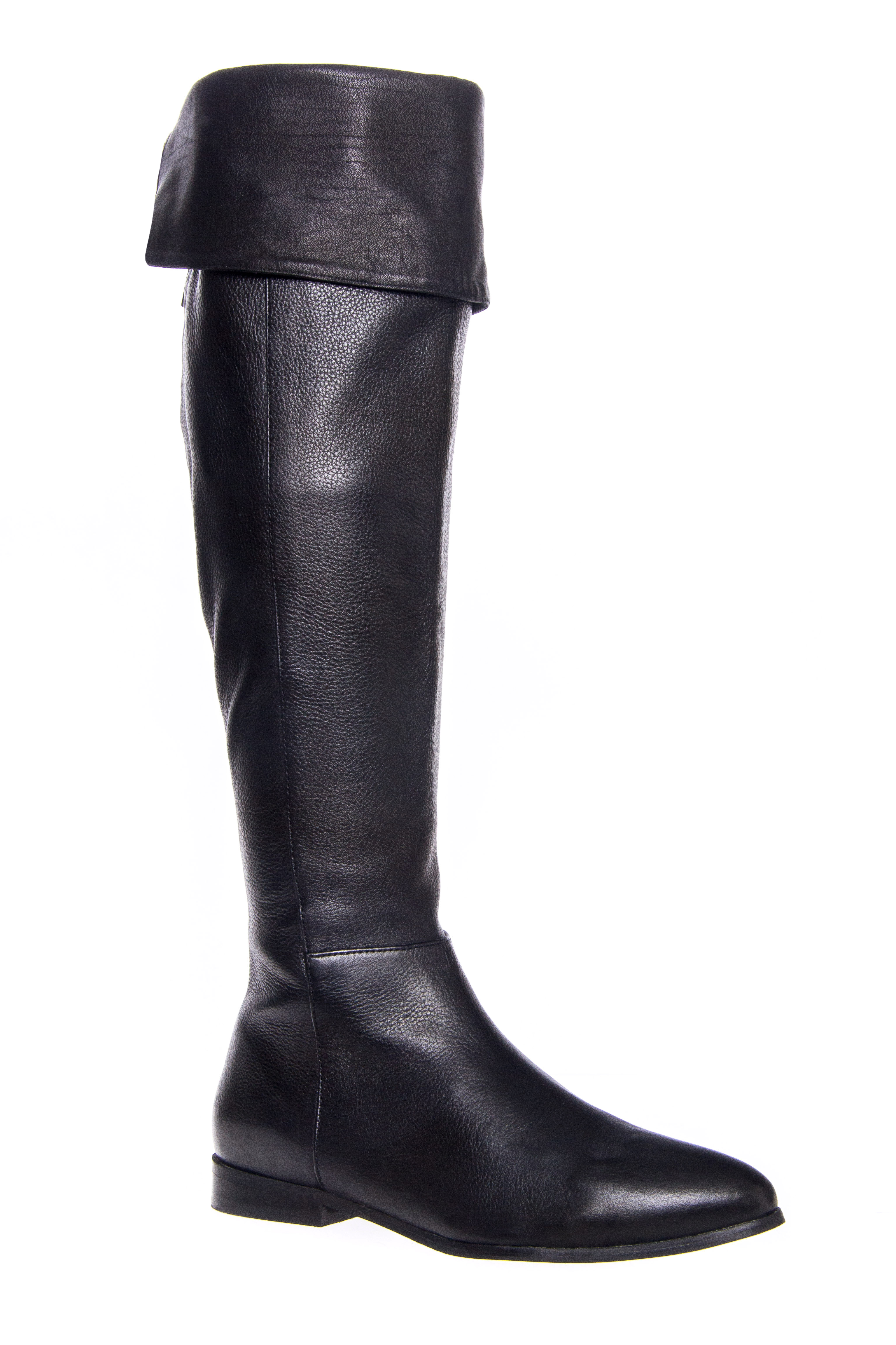 Victory Over The Knee Boot $157.49 AT vintagedancer.com