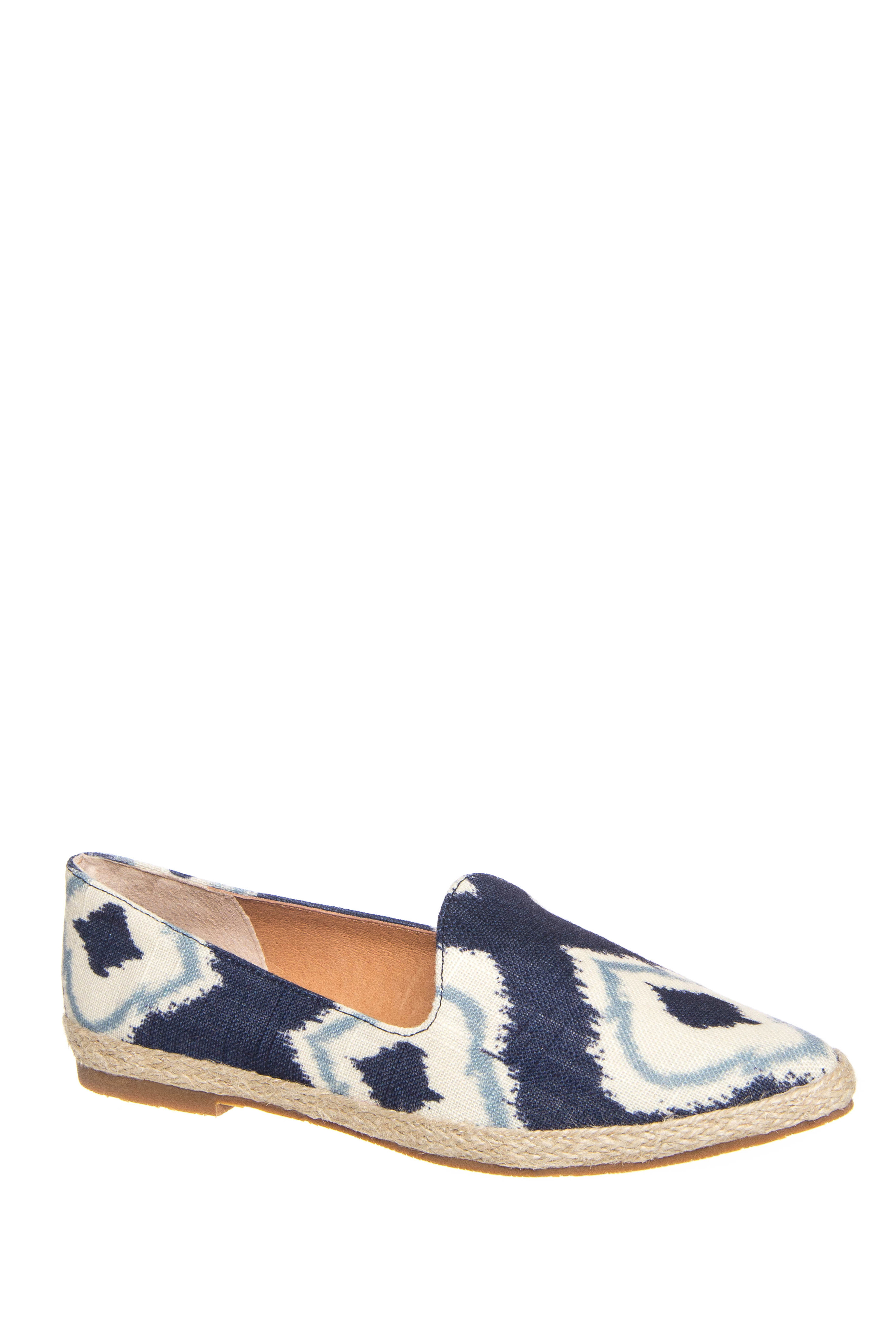 Seychelles Browse Slide On Loafers - Indigo Print