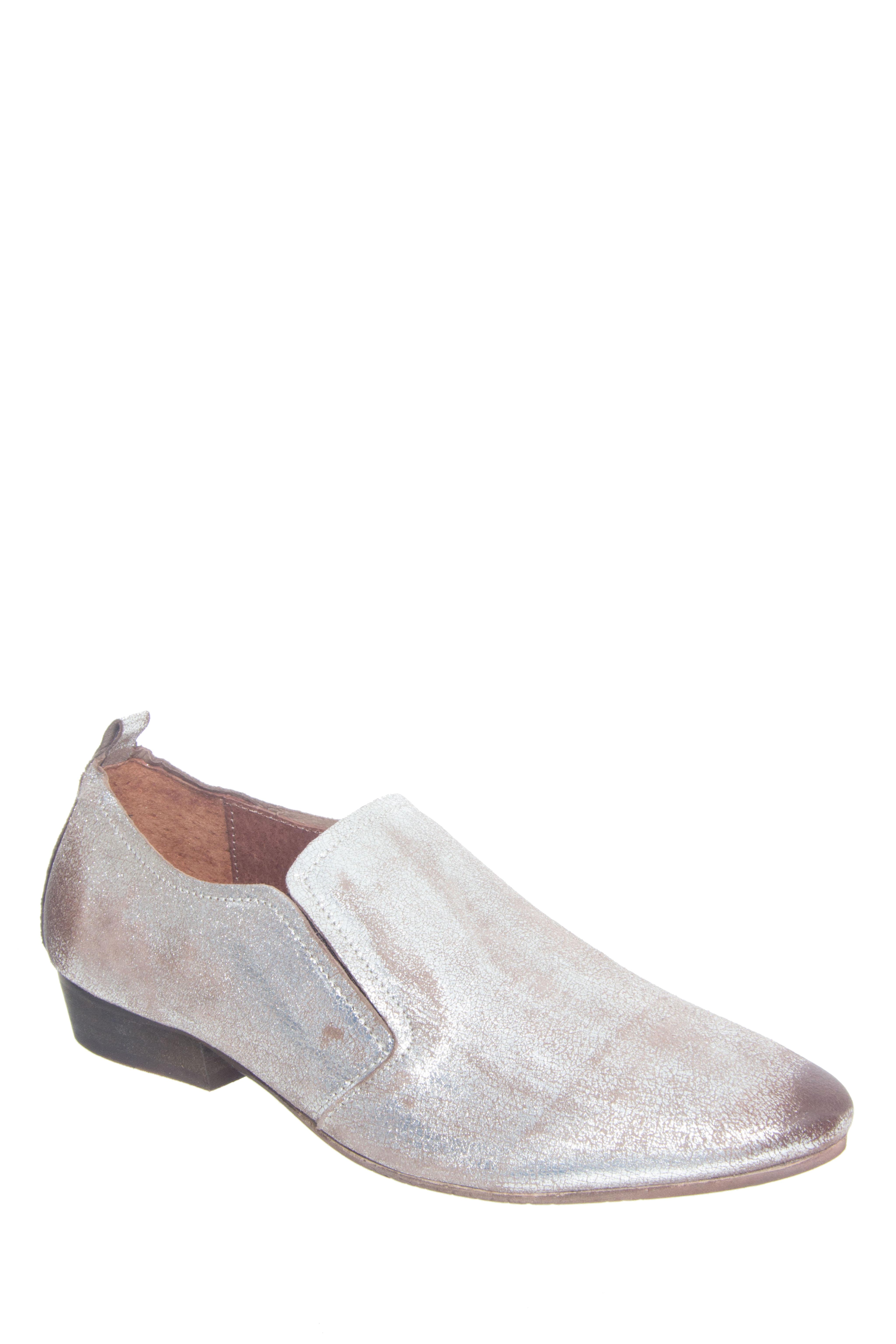 Seychelles Skein Low Heel Loafers - Pewter