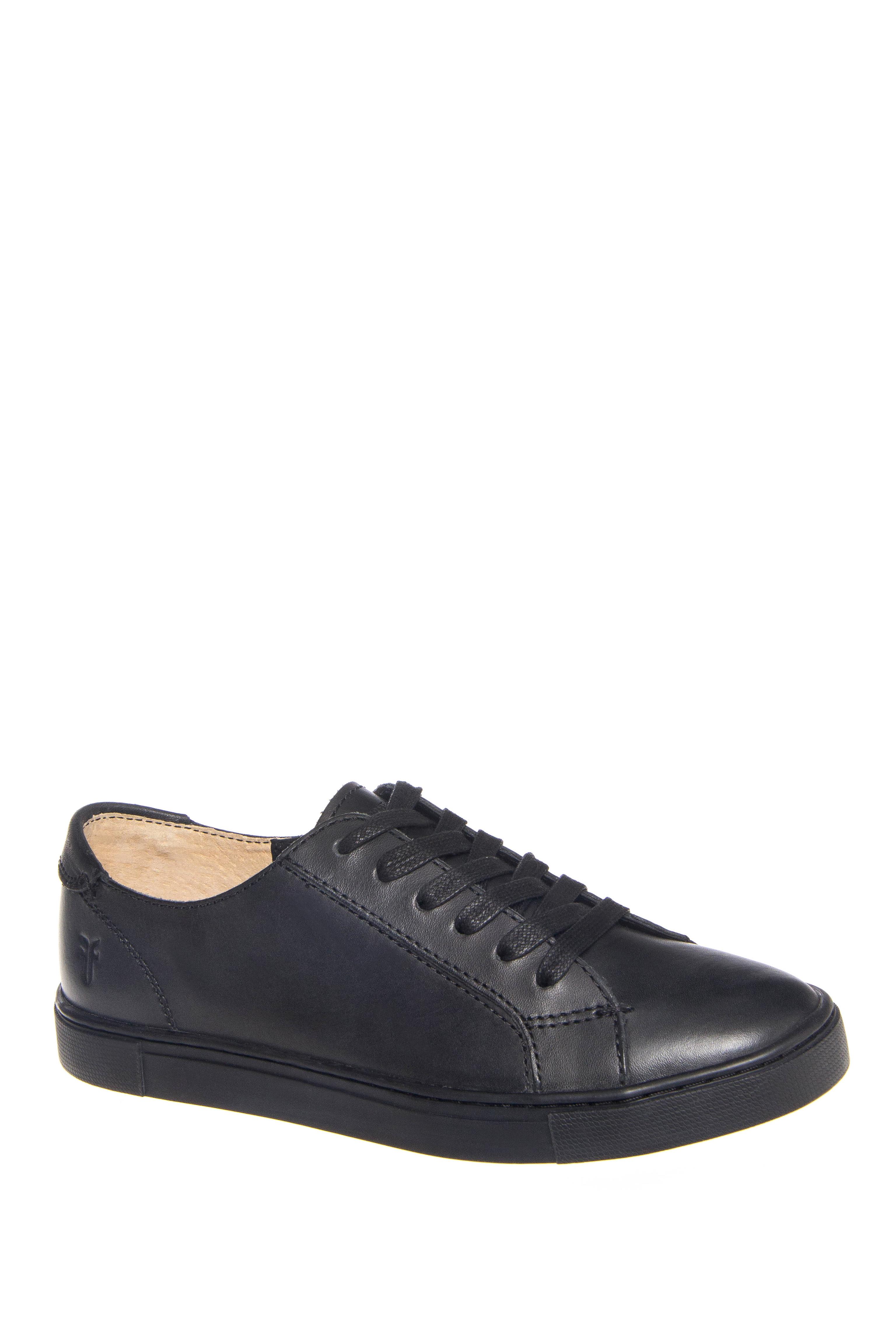 Frye Gemma Low Top Sneakers - Black