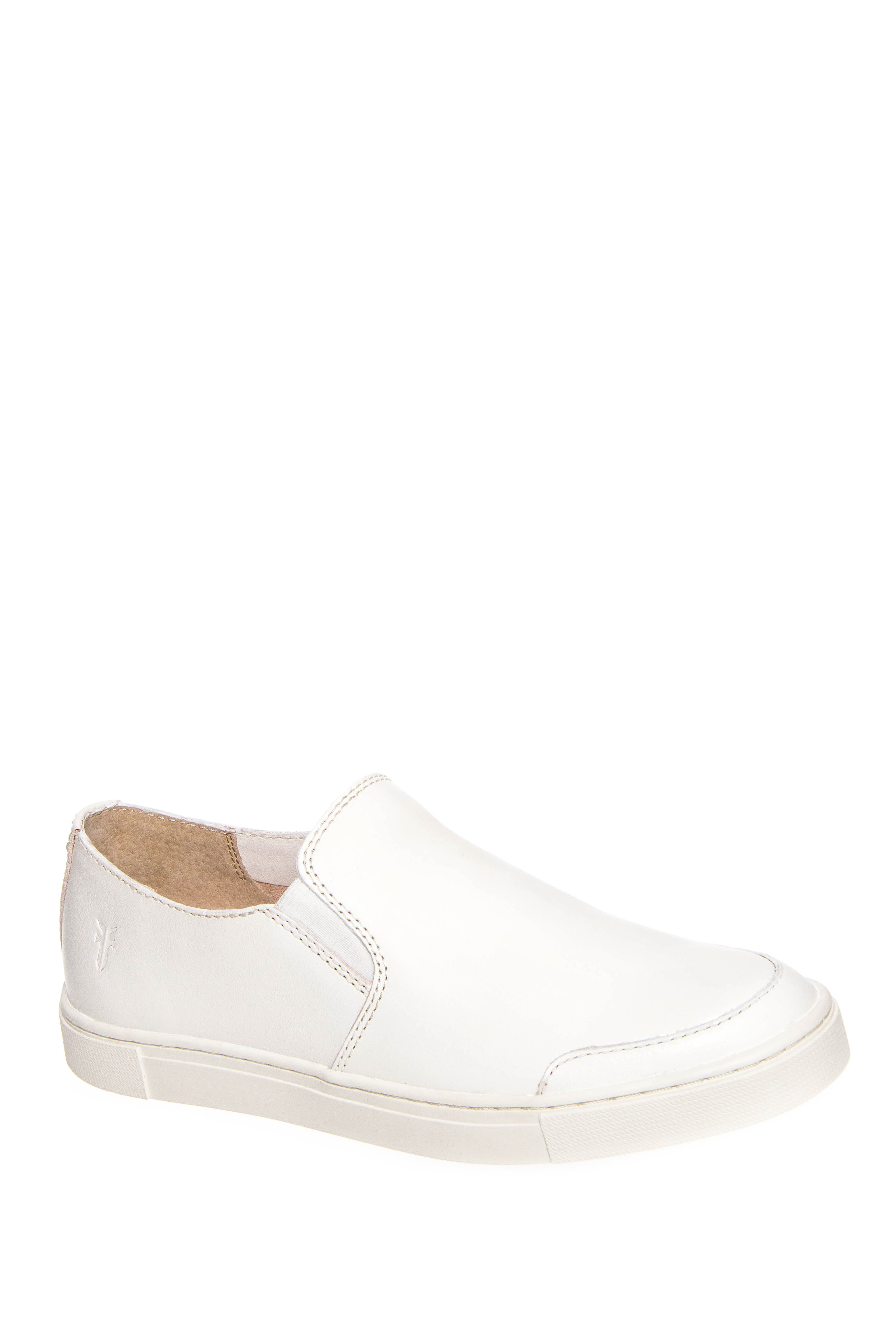 Frye Gemma Slip-On Sneakers - White