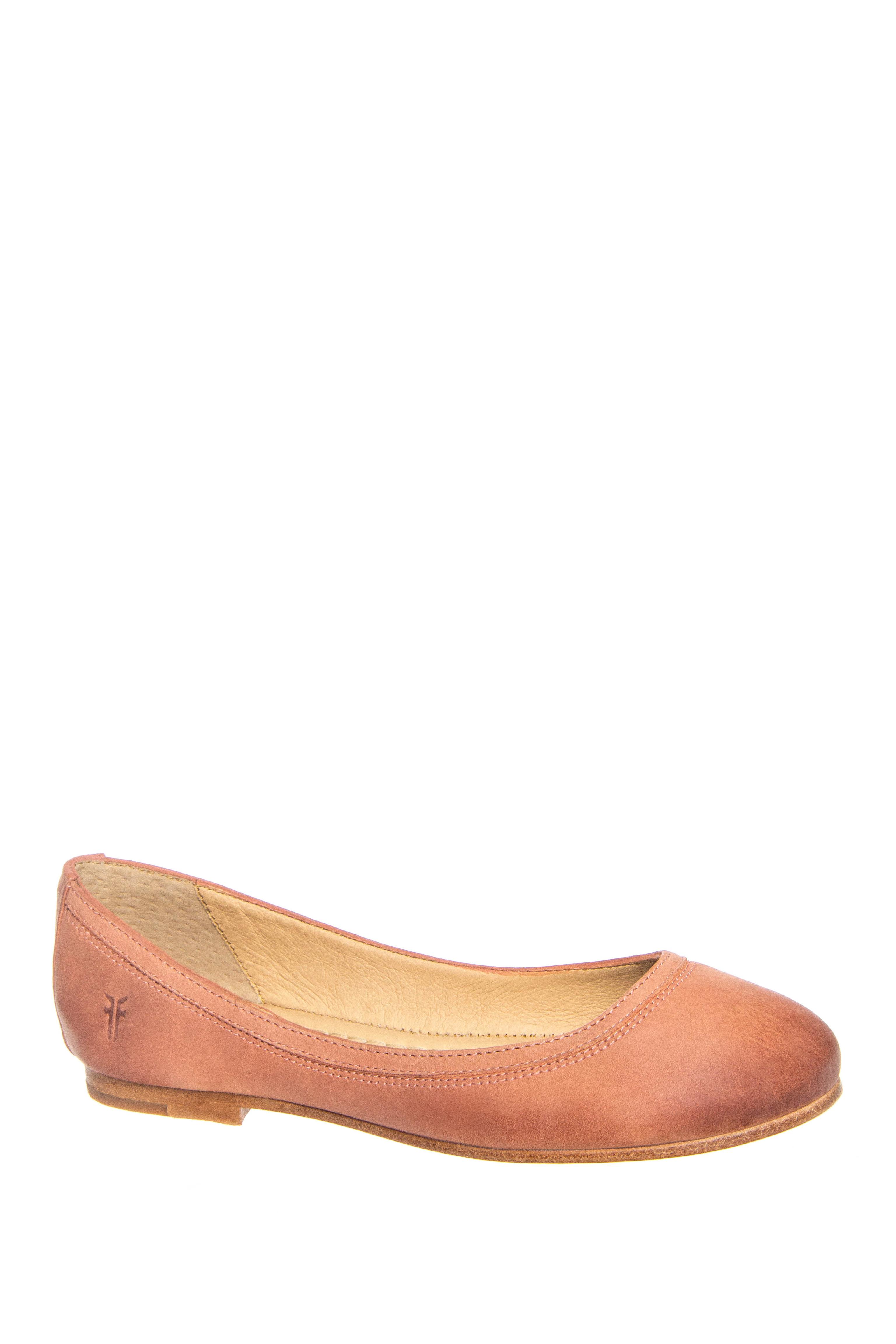 Frye Carson Ballet Flats - Dusty Rose