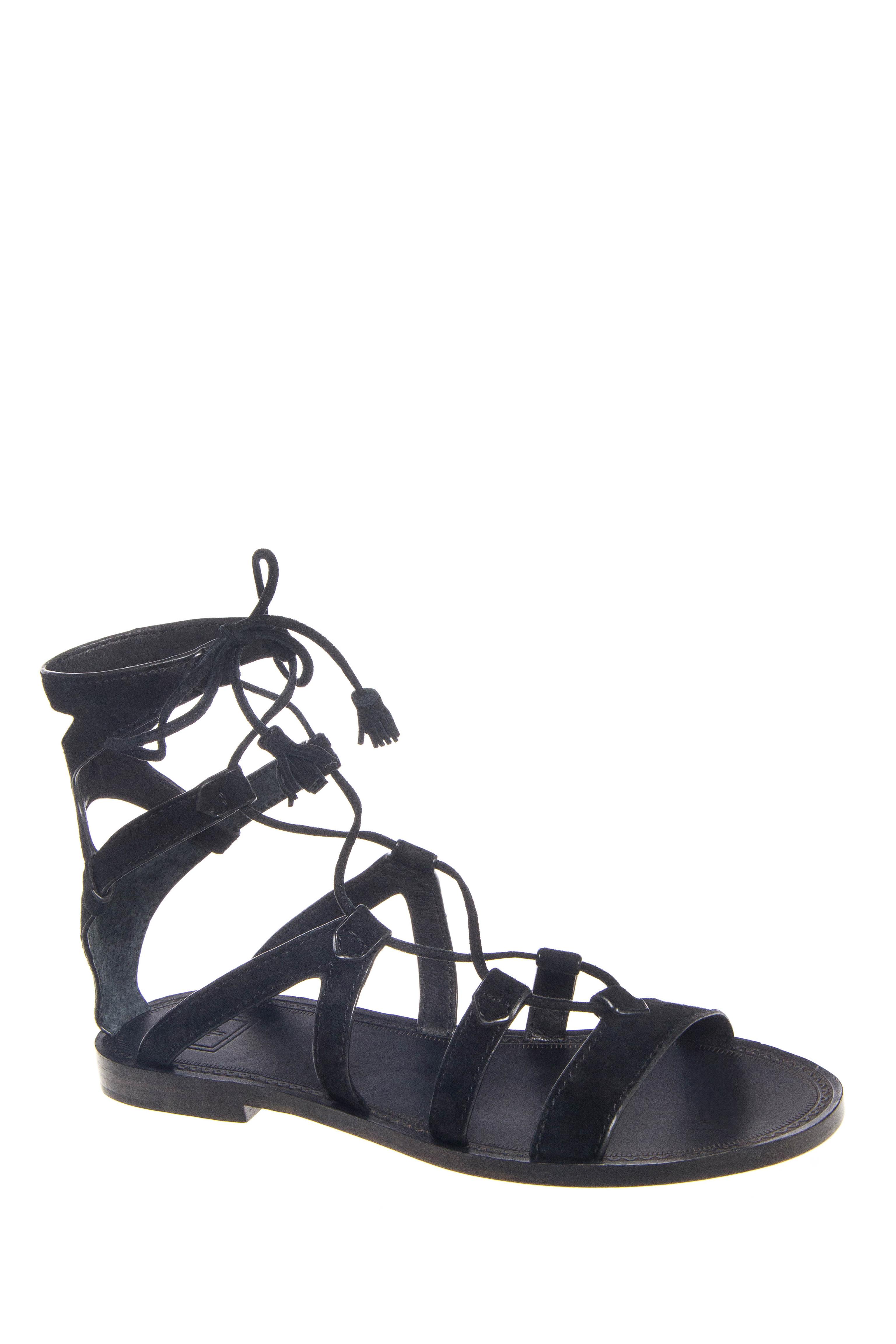 Frye Ruth Gladiator Sandals - Black