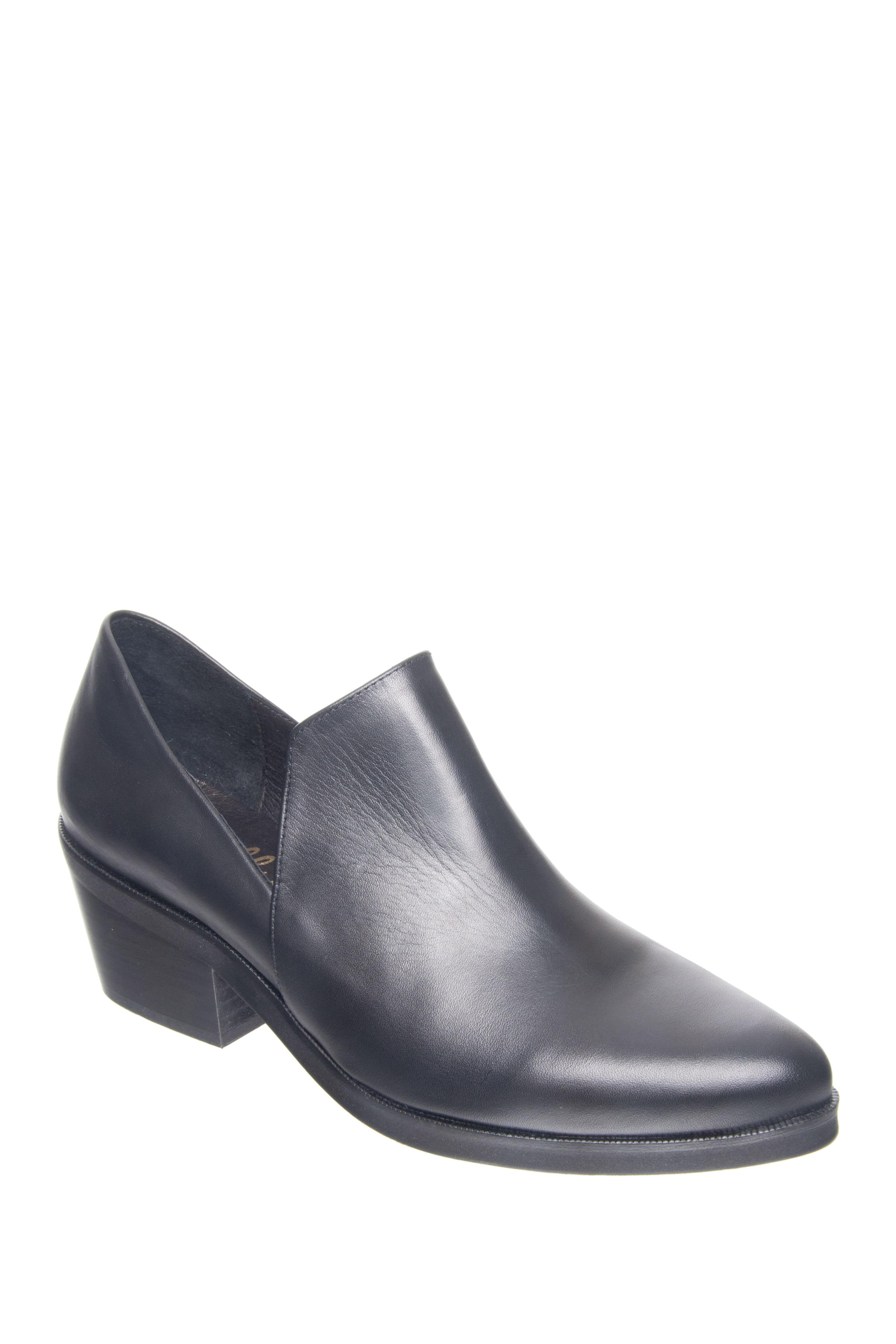 Shellys London Johnna Mid Heel Shoes - Black