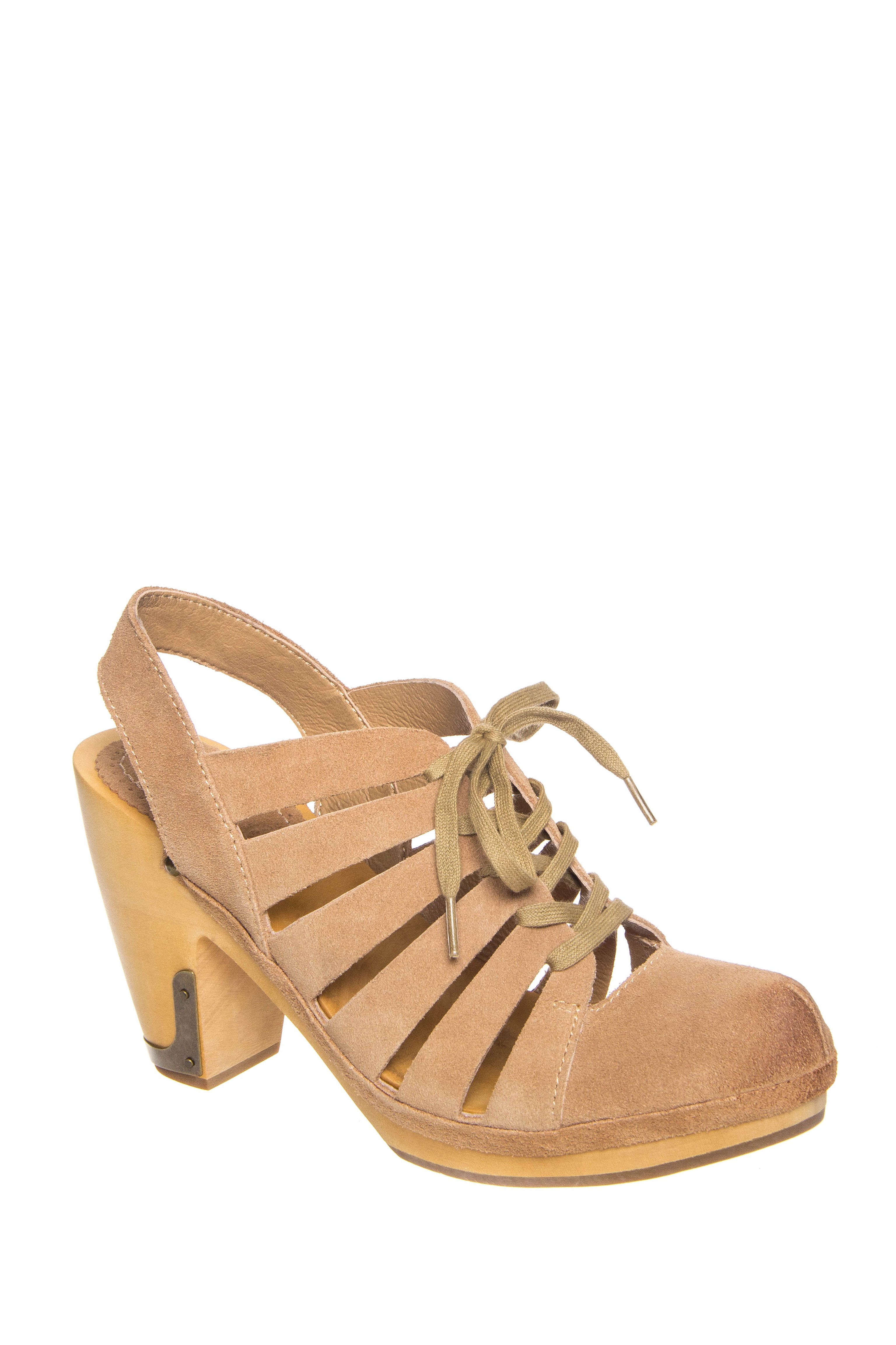 Latigo Cali Mid Heel Sandals - Straw