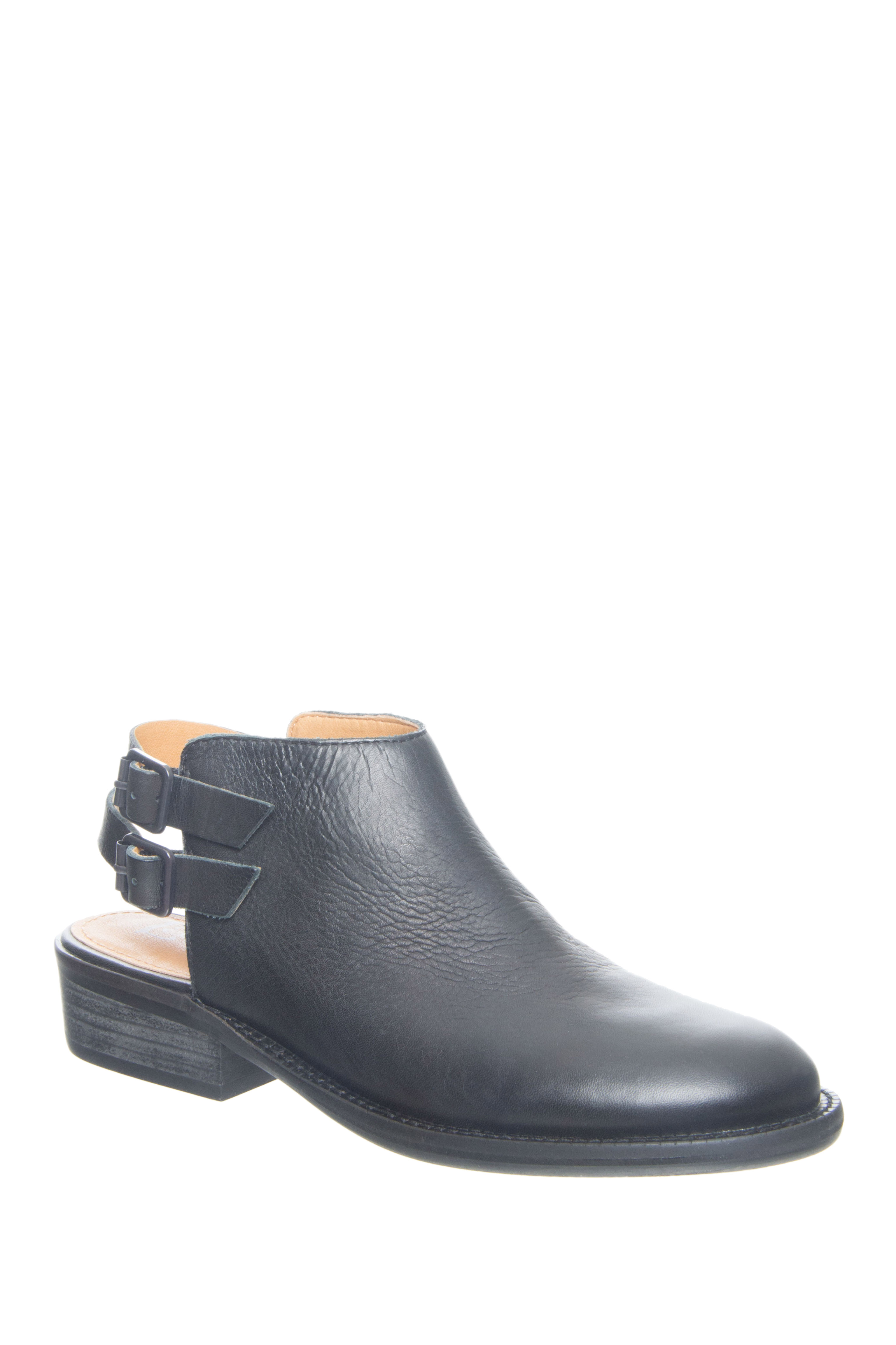 Latigo Cupcake Open Back Booties - Black